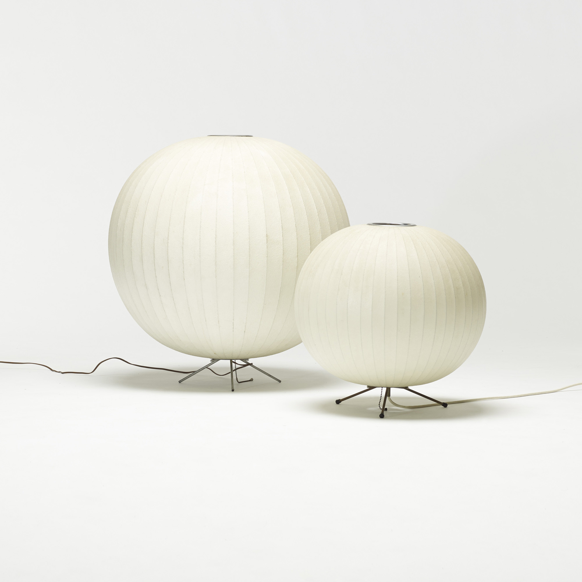 437 george nelson associates collection of five bubble table lamps 2 of