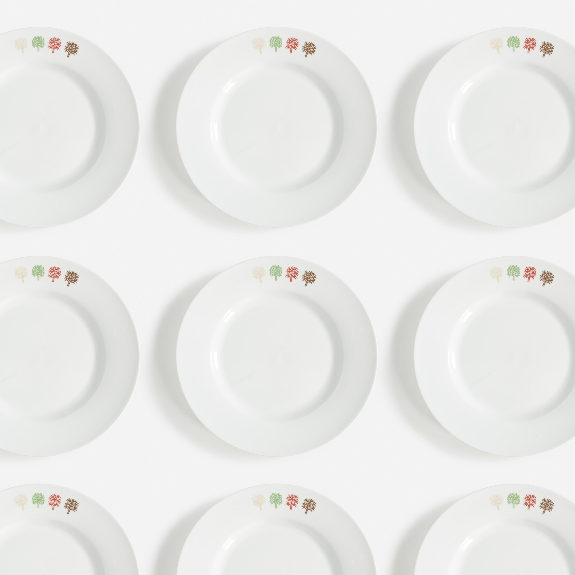439:  / Collection of Four Seasons plates, set of twenty-four (1 of 1)
