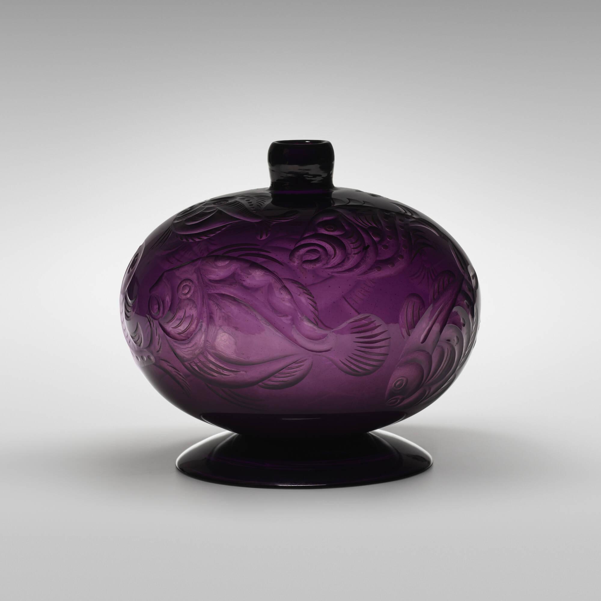 43: Vittorio Zecchin and Franz Pelzel / Unique Pesci vase (2 of 5)