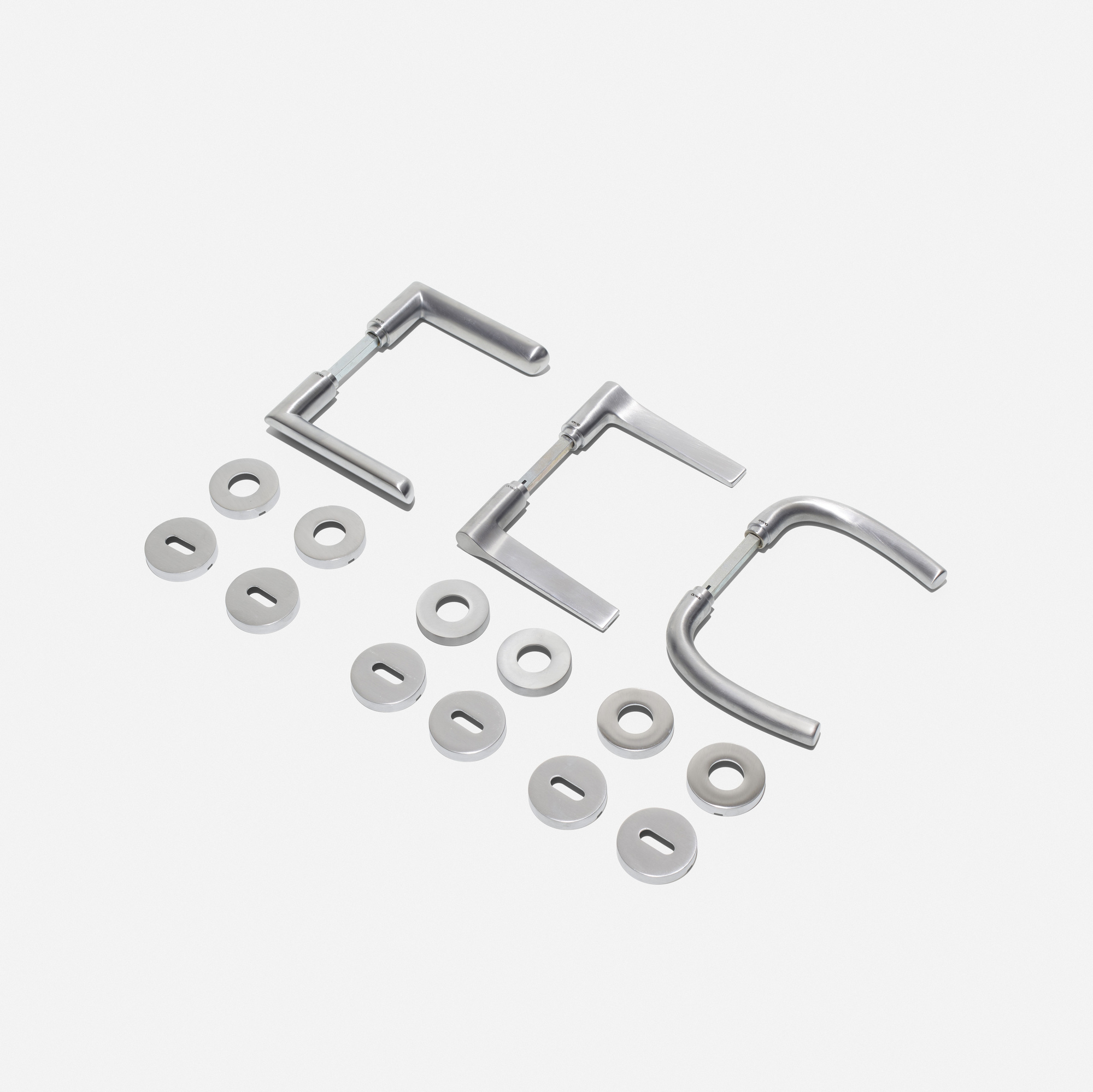 440: Olivari / door handles, set of three (1 of 2)