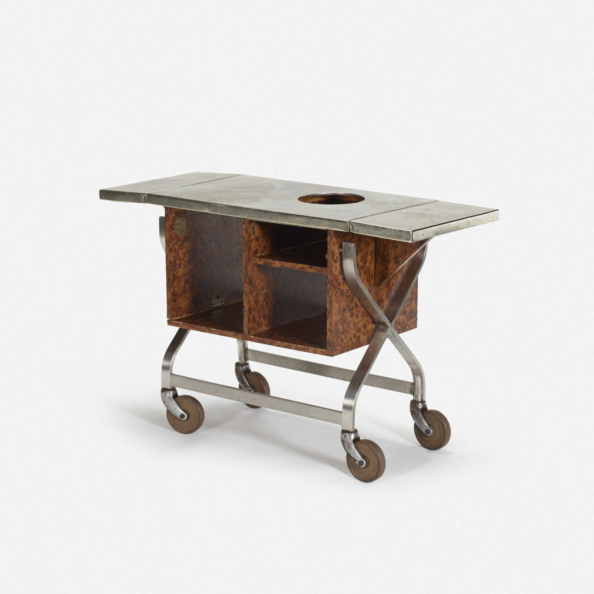 444: Garth and Ada Louise Huxtable / Serving cart from The Four Seasons (1 of 1)