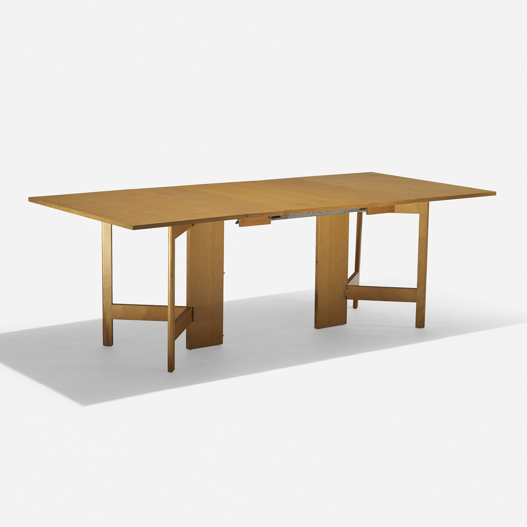 444 george nelson associates gate leg dining table for Dining table models