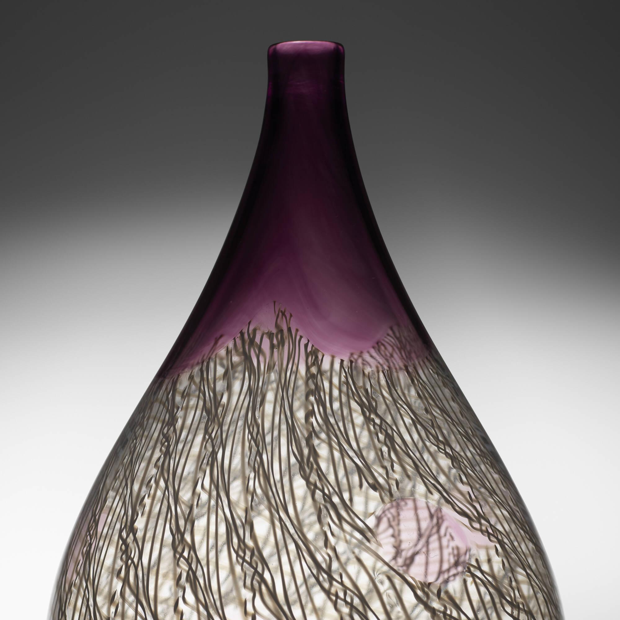 44: Archimede Seguso / Merletto vase (2 of 3)