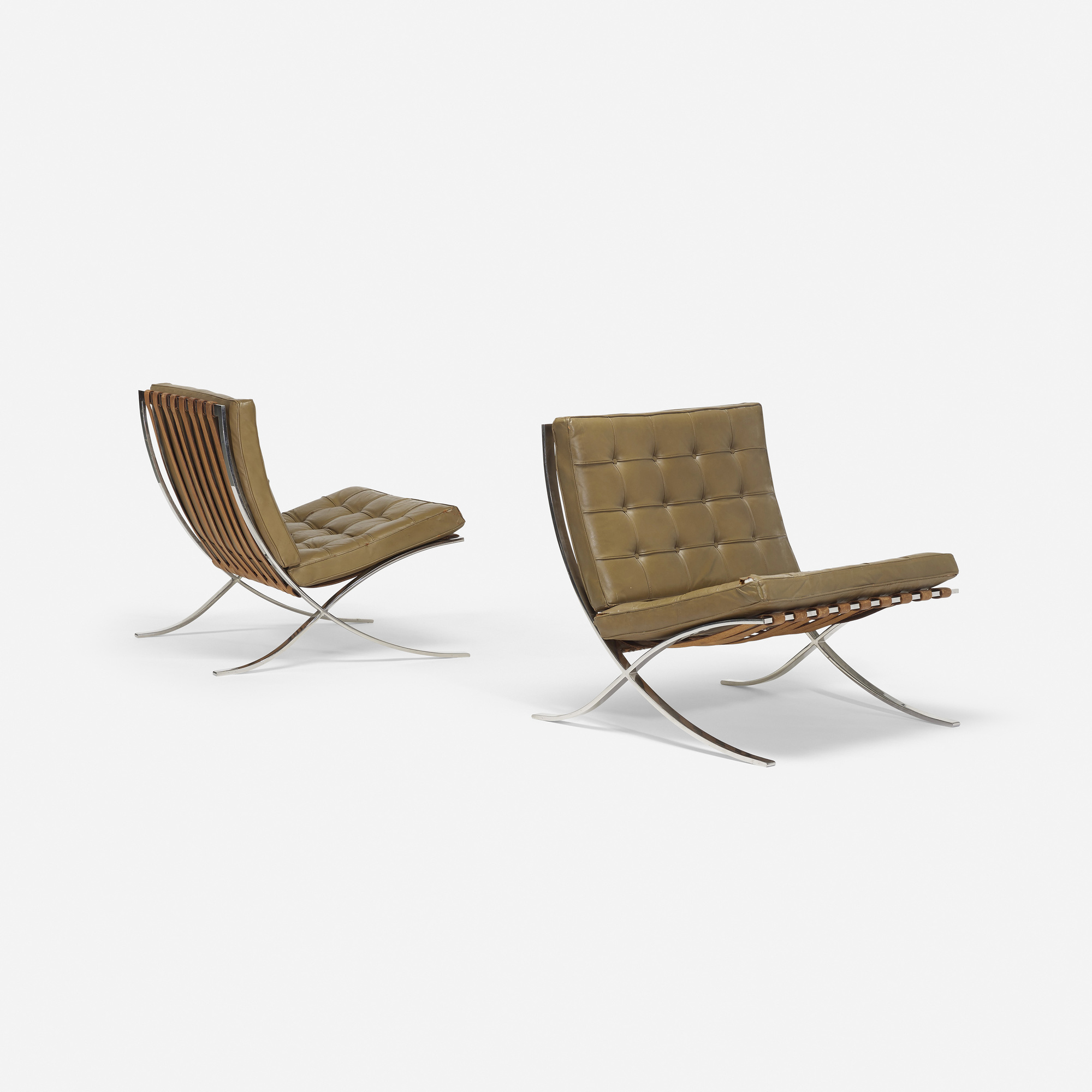 Van Der Rohe Furniture On 450 Ludwig Mies Van Der Rohe Barcelona Chairs Pair 2 Of Ludwig Mies Van Der Rohe u003c Design 22