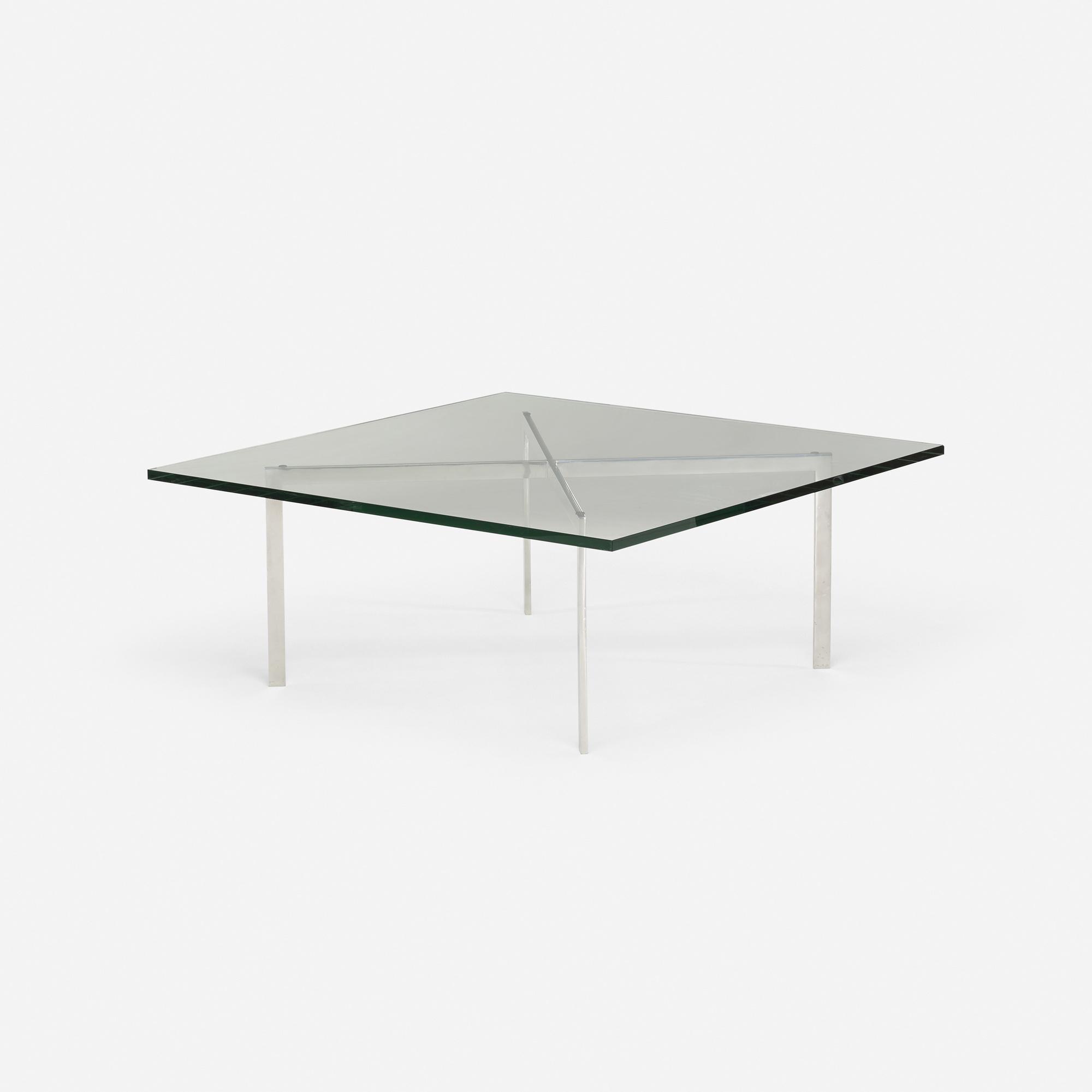 451: Ludwig Mies Van Der Rohe / Barcelona Coffee Table (1 Of 2)