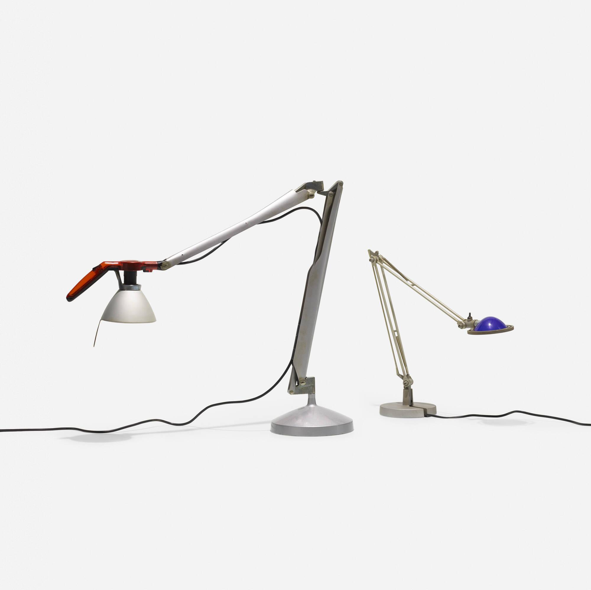 452: Alberto Meda and Paolo Rizzatto / Berenice and Fortebraccio table lamps (2 of 2)