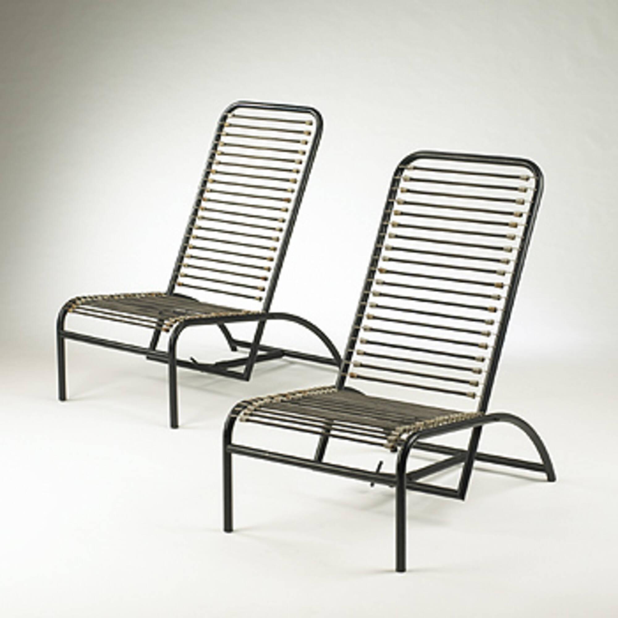 Modern Design Fauteuil.456 Rene Herbst Fauteuil De Repos Pair Modern Design 3
