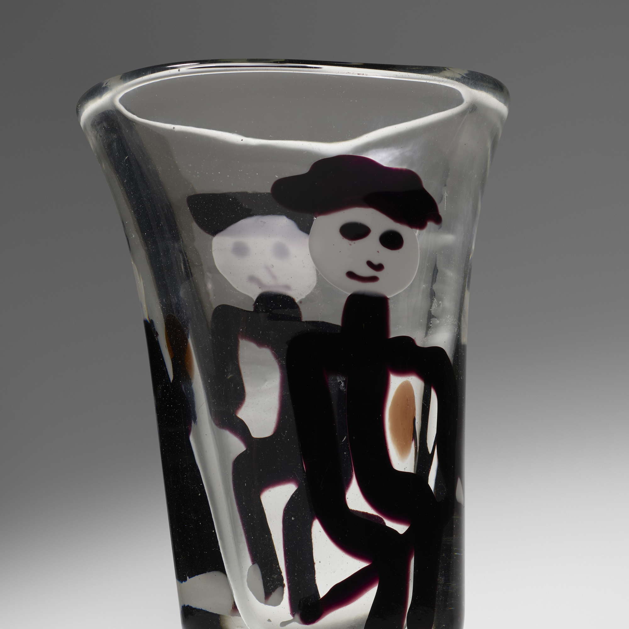 45: Fulvio Bianconi / Important con Macchie vase, model 4427 (3 of 4)