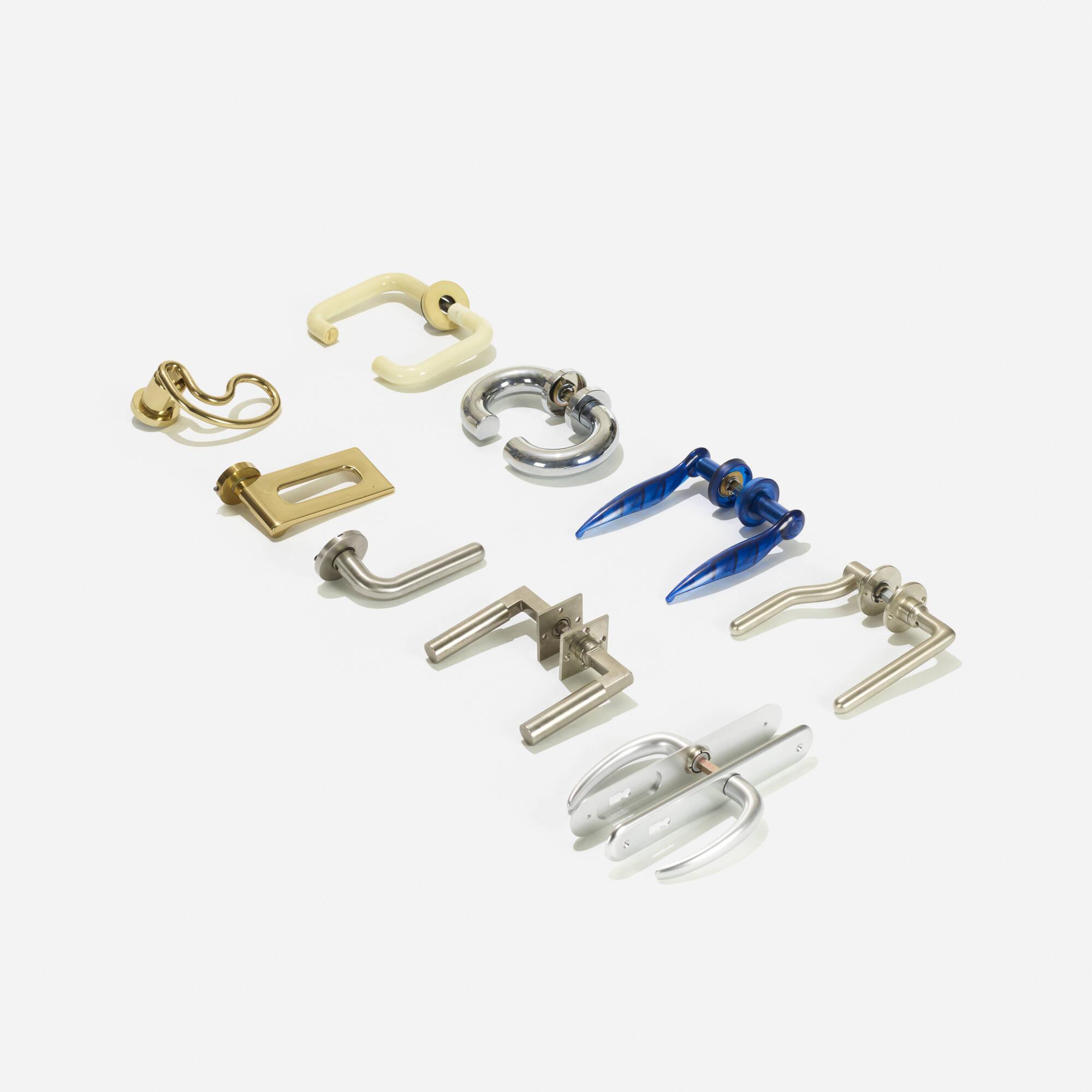 460: Various Artists / collection of nine door handles (1 of 2)