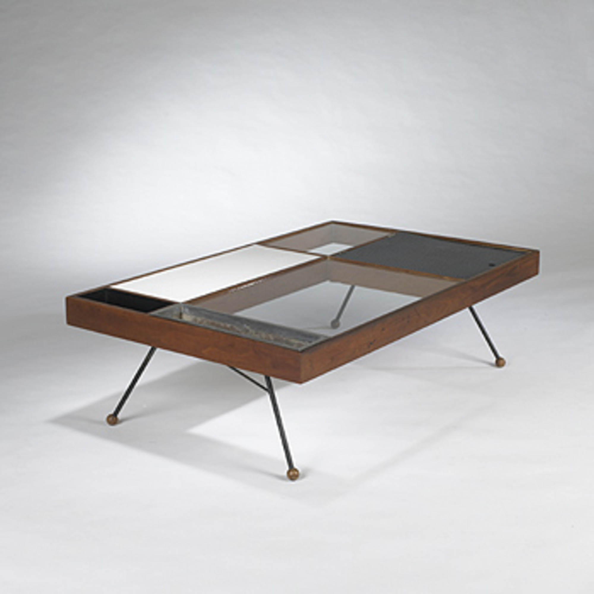 464: MILO BAUGHMAN, Coffee Table U003c Modern Design, 28 March 2004 U003c Auctions  | Wright: Auctions Of Art And Design