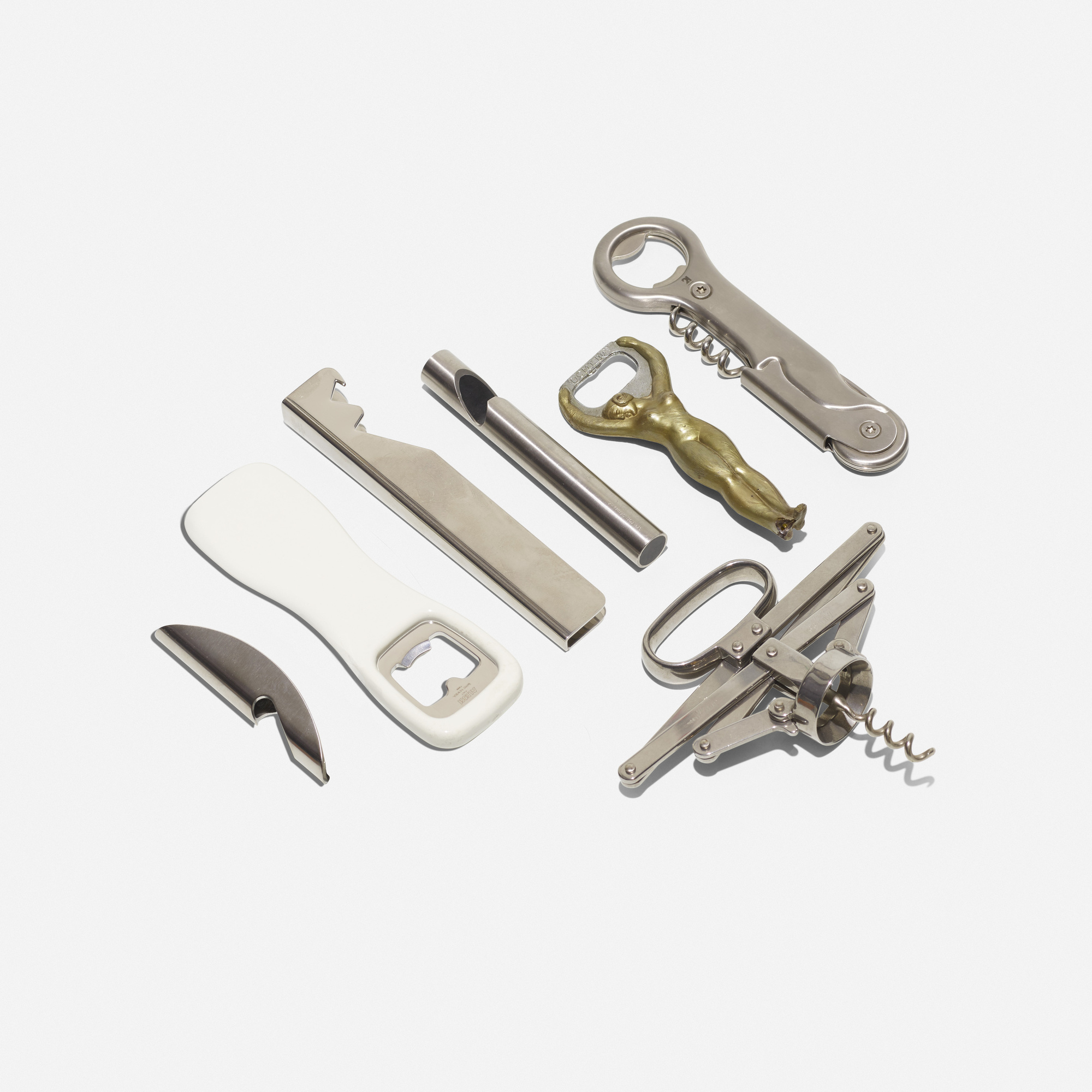 464: Various Artists / collection of seven bottle openers (1 of 1)