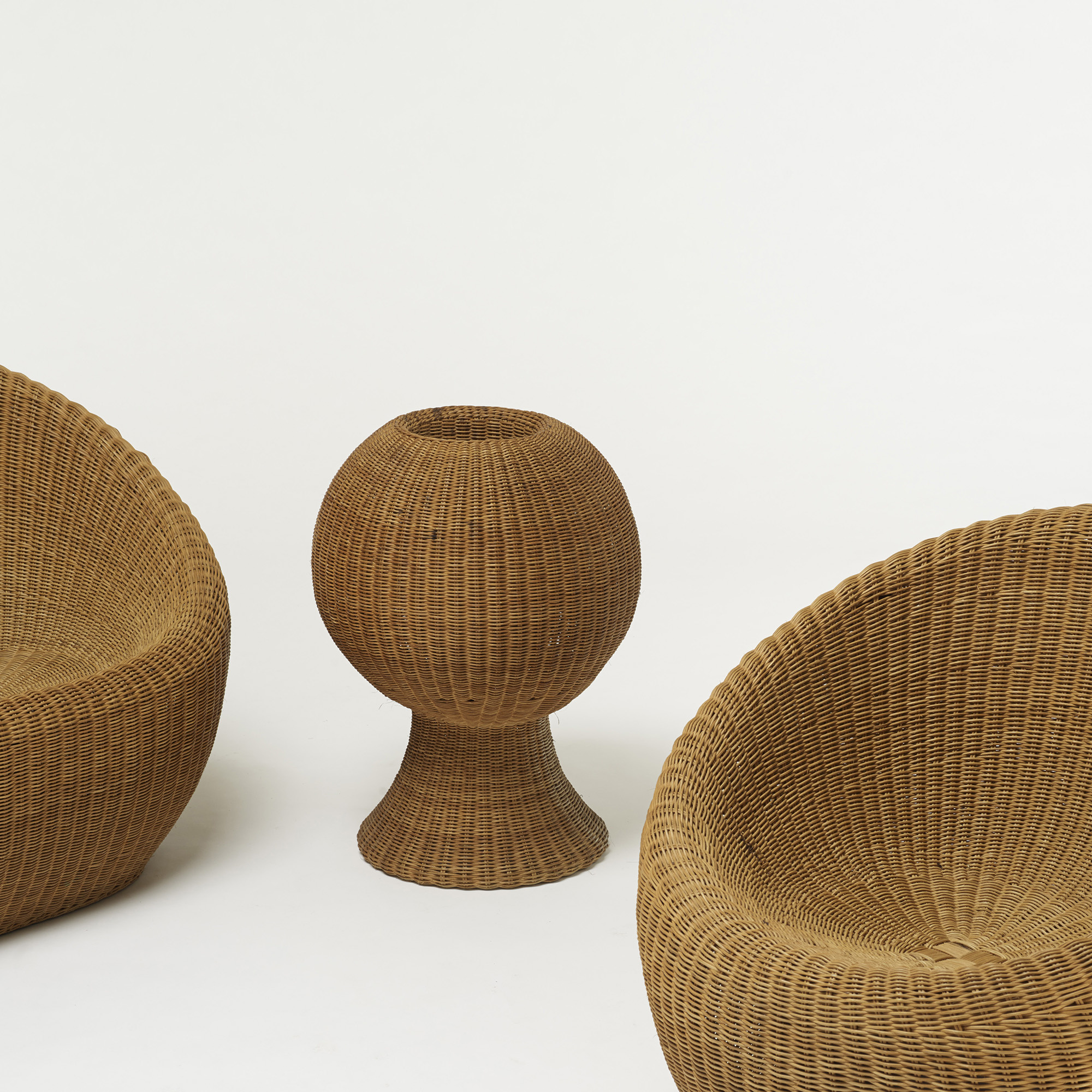 468 Isamu Kenmochi Rattan Furniture Suite Design 17 October