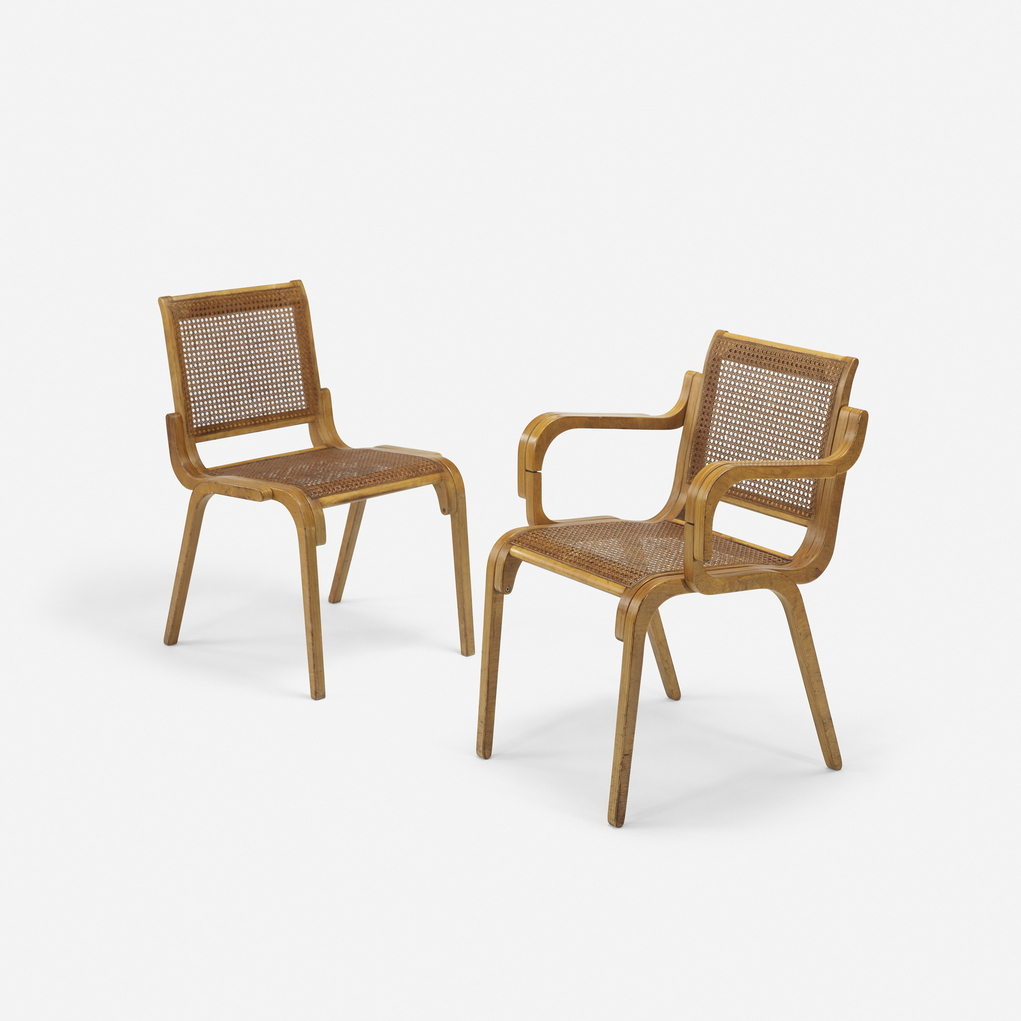 ... 476: Marcel Breuer / Rare Dining Chairs, Set Of Six (4 Of 4