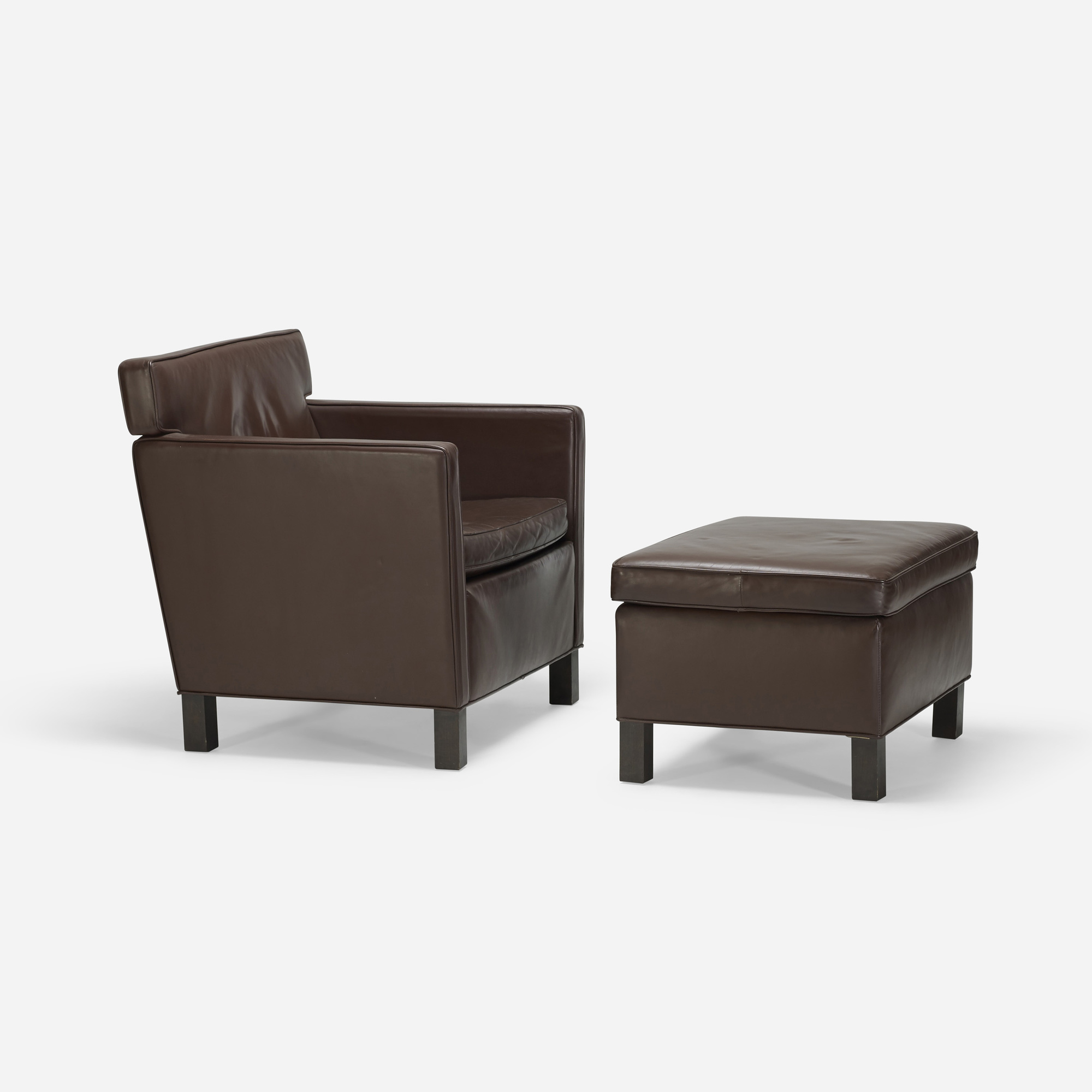 480 ludwig mies van der rohe krefeld lounge chair and ottoman. Black Bedroom Furniture Sets. Home Design Ideas