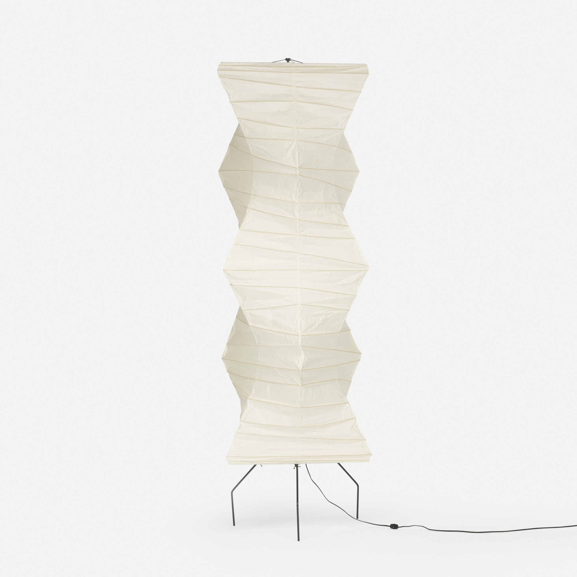 isamu noguchi lighting. Brilliant Lighting 487 Isamu Noguchi  Akari Floor Lamp Model EF533NW 1 Of Throughout Lighting T