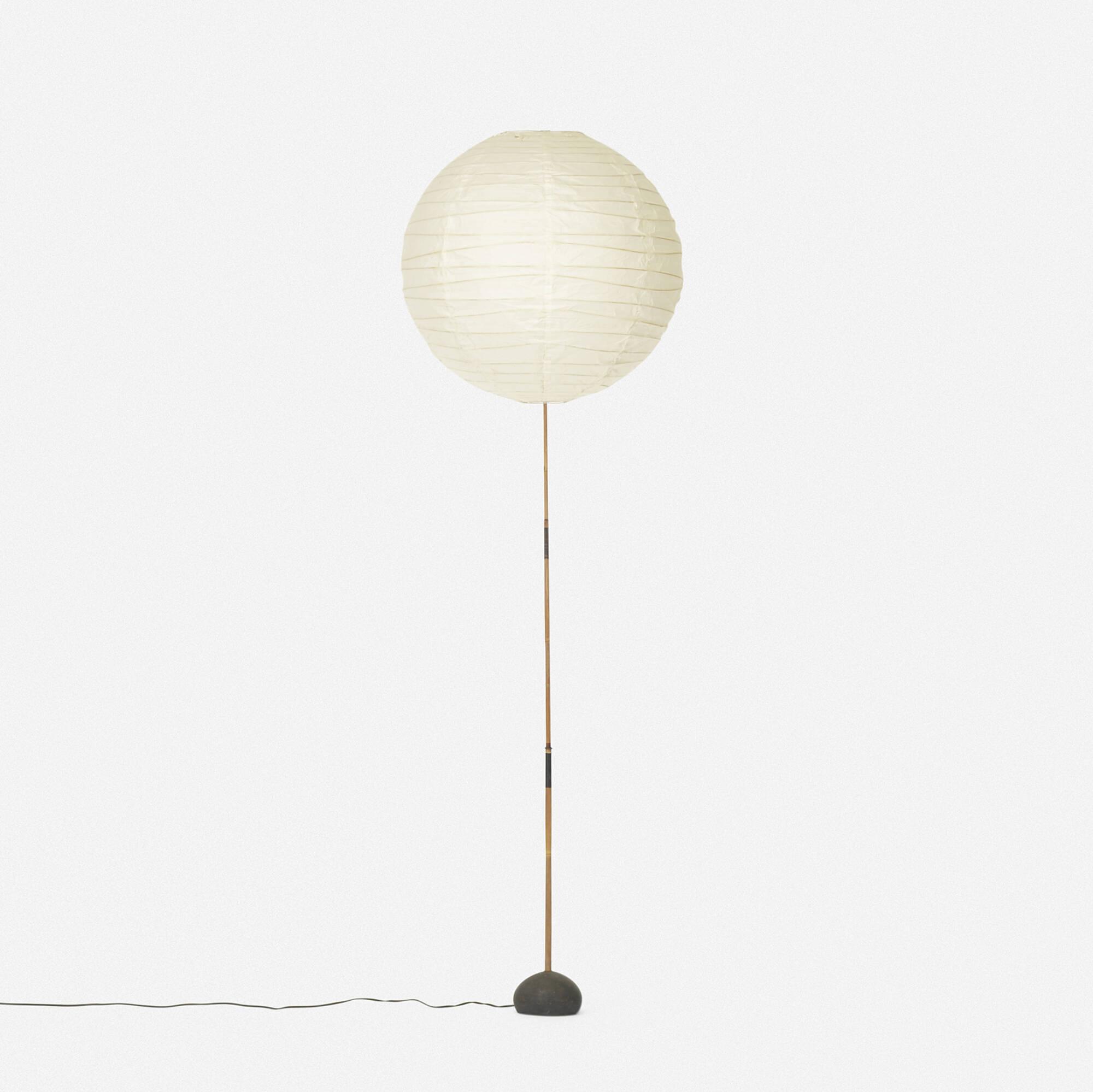 489 Isamu Noguchi Akari Floor Lamp Model Bb 55dd 1 Of