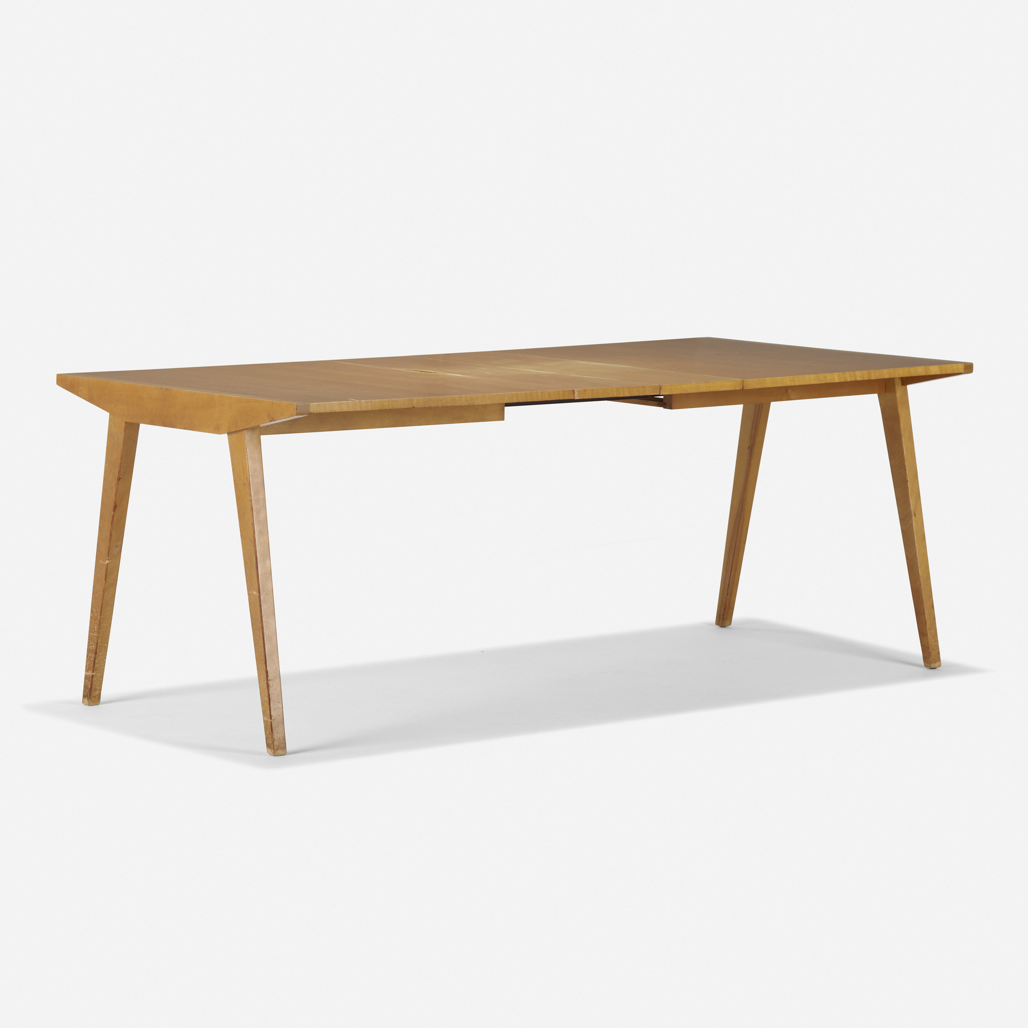 498 George Nakashima Early Extension Dining Table Model Nk 12 10 September 2020 Auctions Wright Auctions Of Art And Design