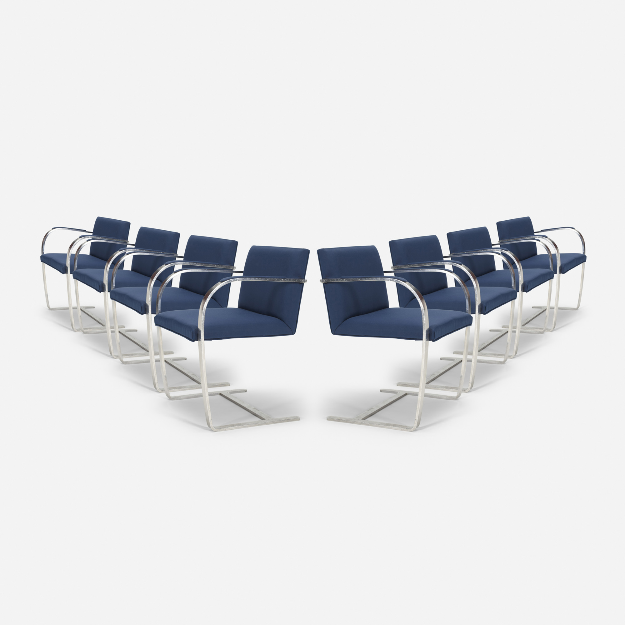 504: Ludwig Mies van der Rohe / Brno chairs from The Four Seasons, set of eight (1 of 1)