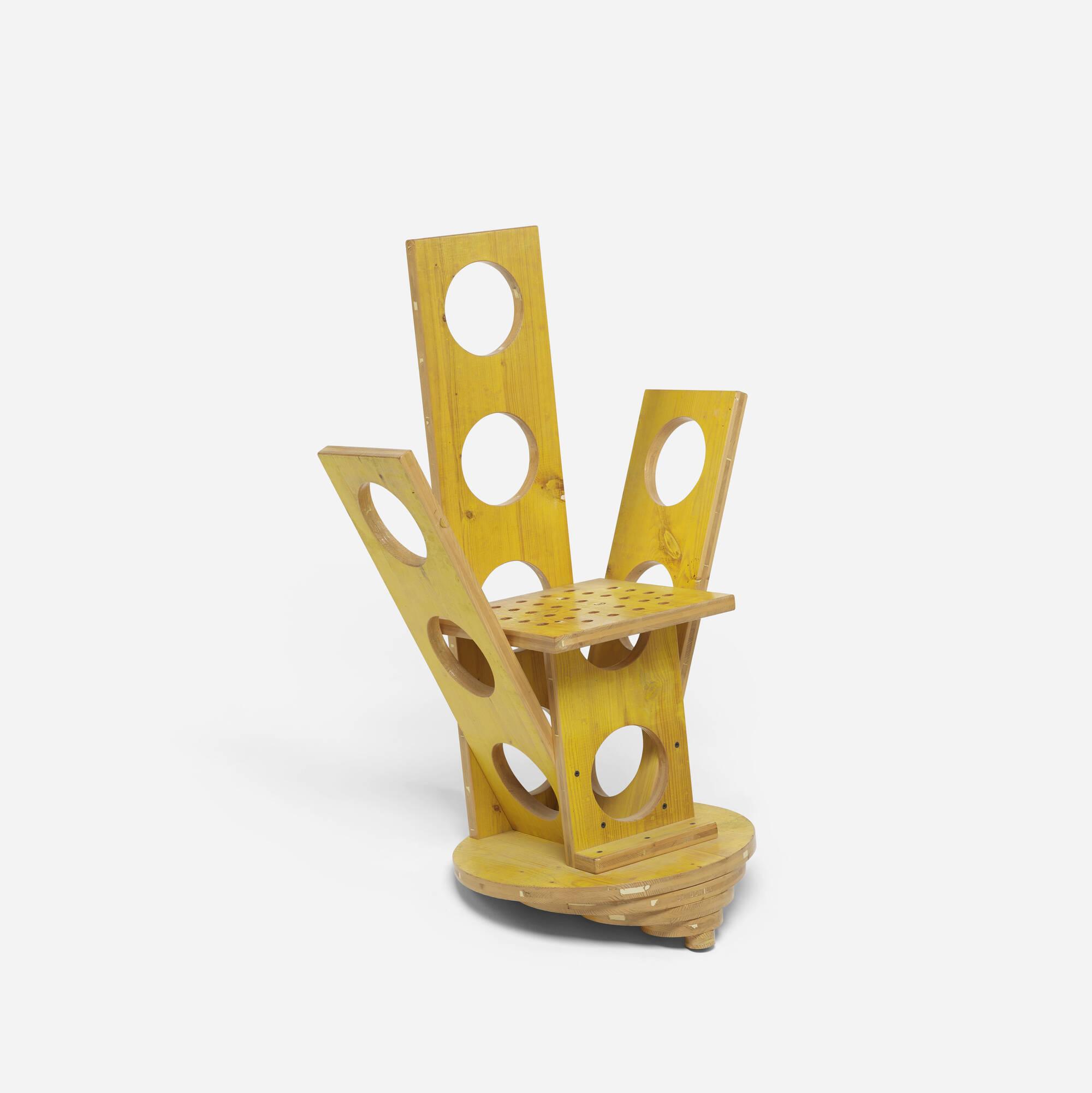 505: Cesare Leonardi / prototype chair (1 of 3)