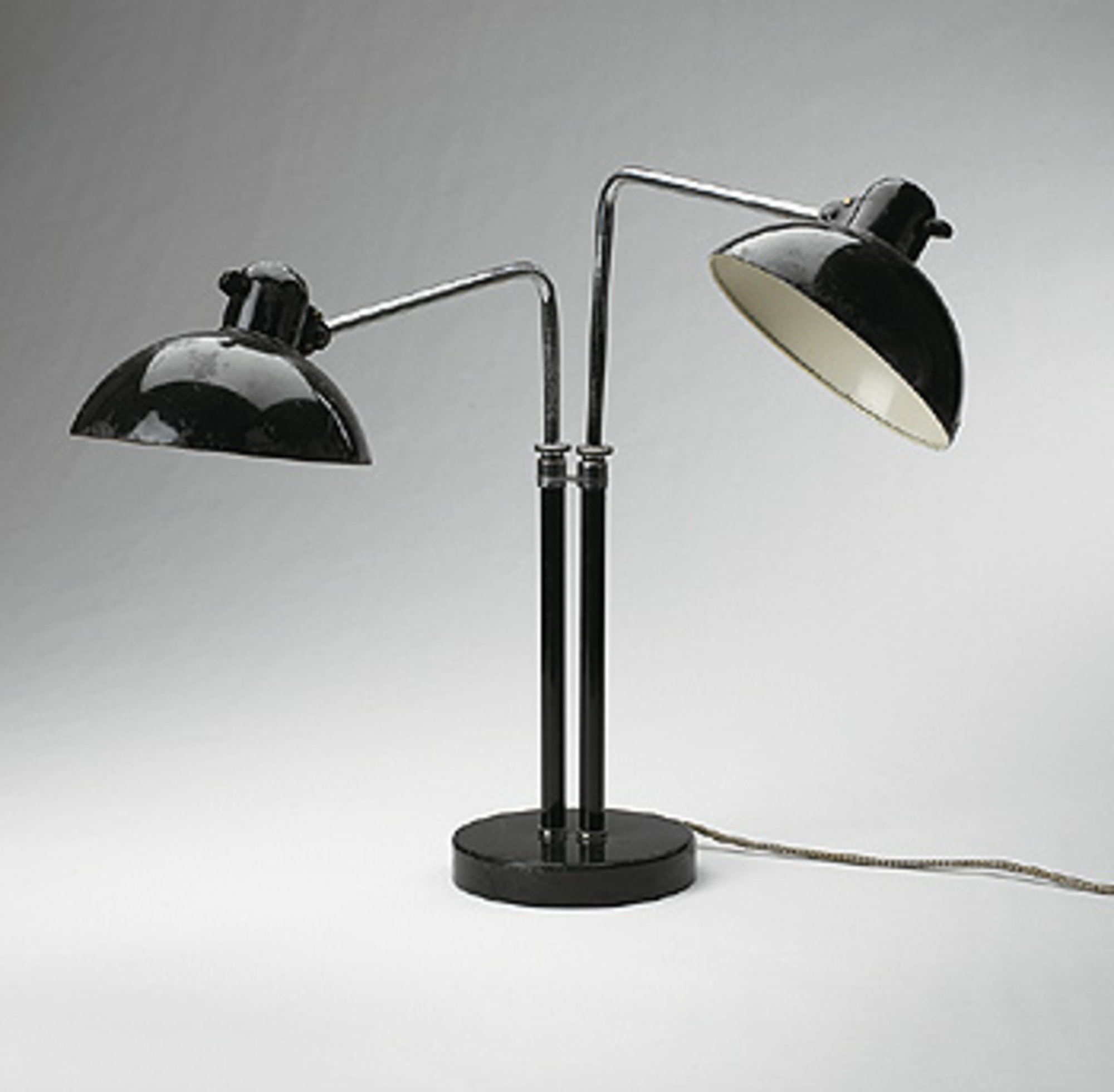511 Christian Dell Double Arm Table Lamp Model 6580 Modern
