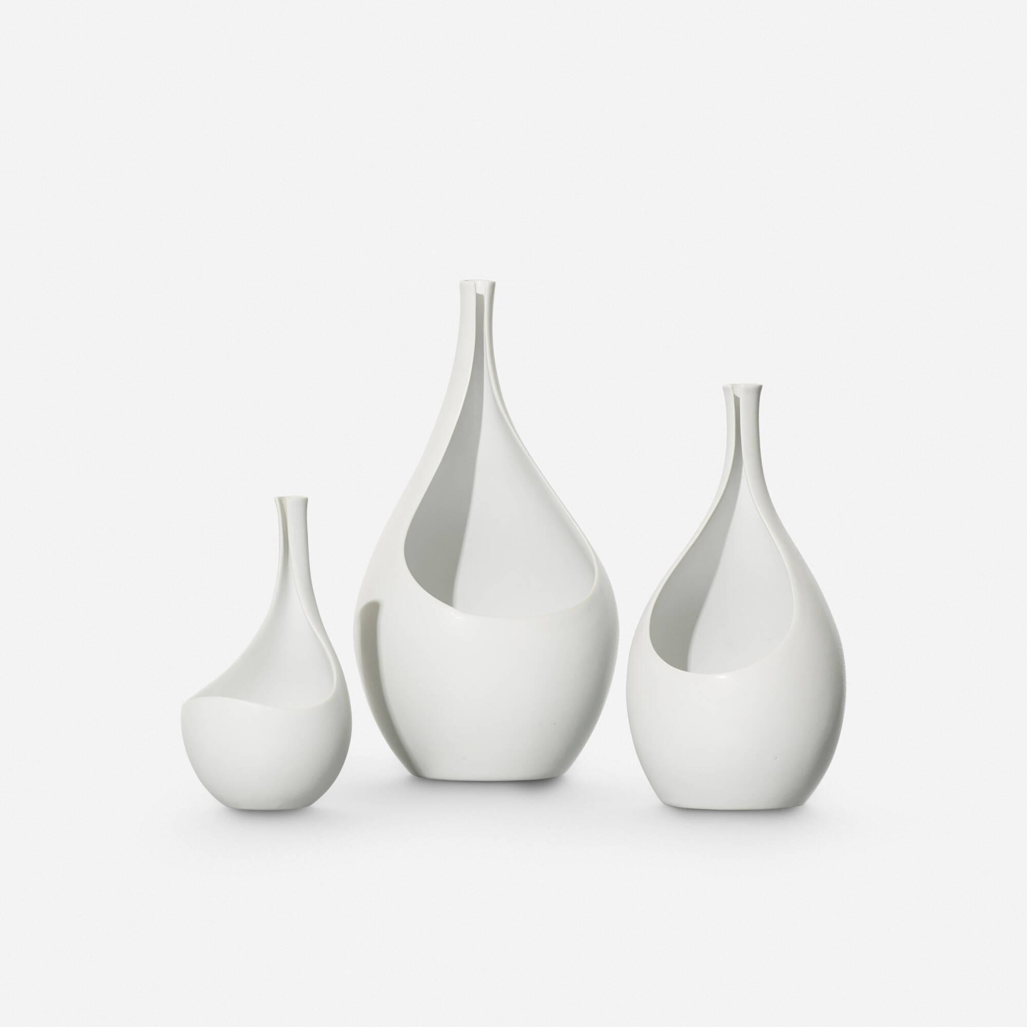 512: Stig Lindberg / collection of three Pungo vases (1 of 1)