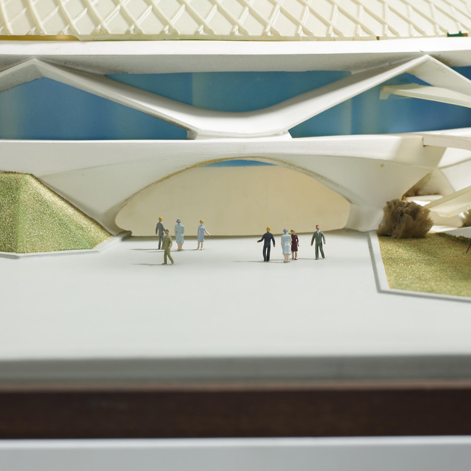 512 Richard Rush Studios Scale Model Of Progressland For The Worlds Fair