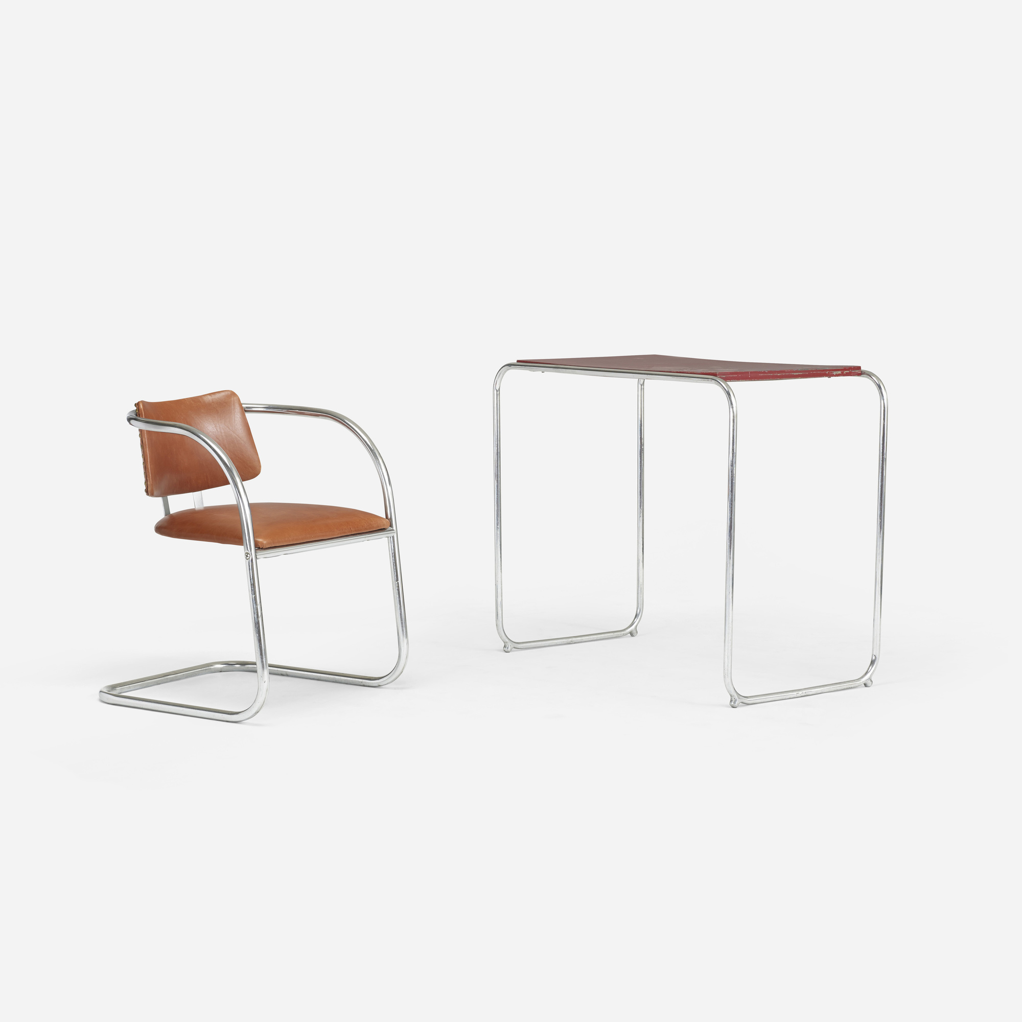 514: Lloyd Manufacturing Company / desk and chair (1 of 2)