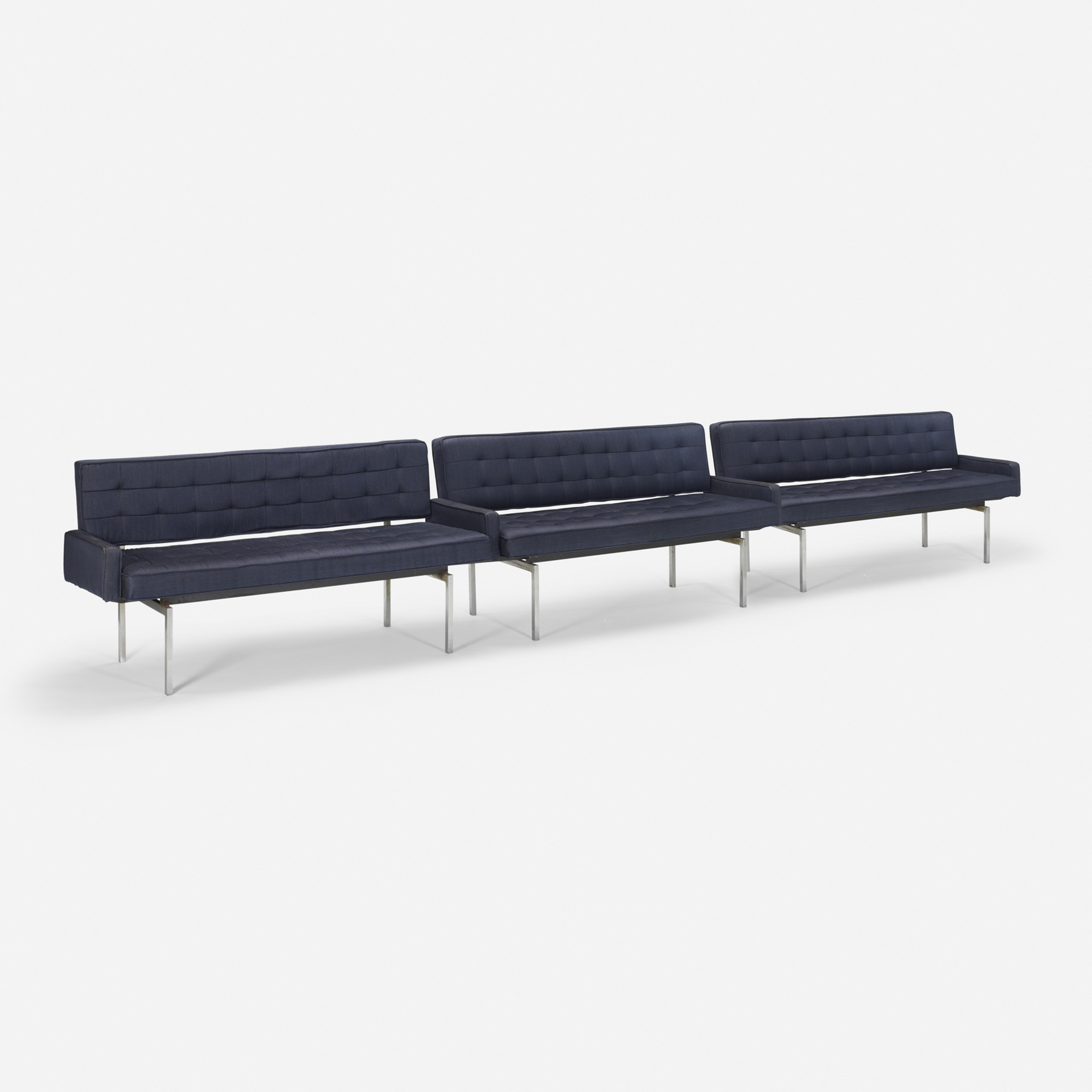 514: Philip Johnson Associates / Banquettes 39, 49 and 59 from the Pool Room, set of three (1 of 1)