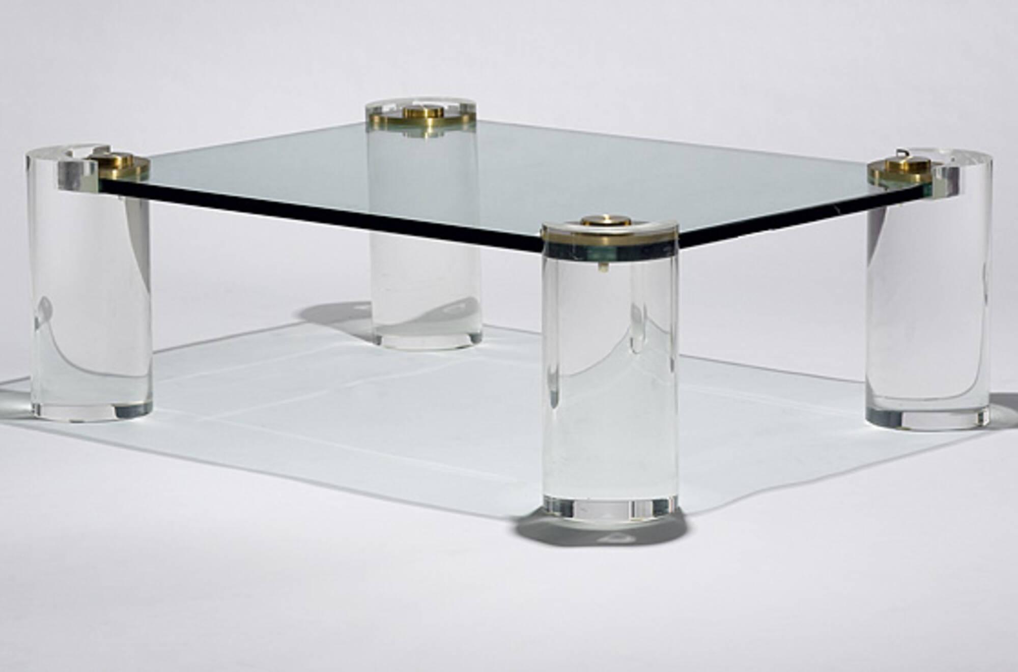 525: Karl Springer / Coffee Table (1 Of 1)