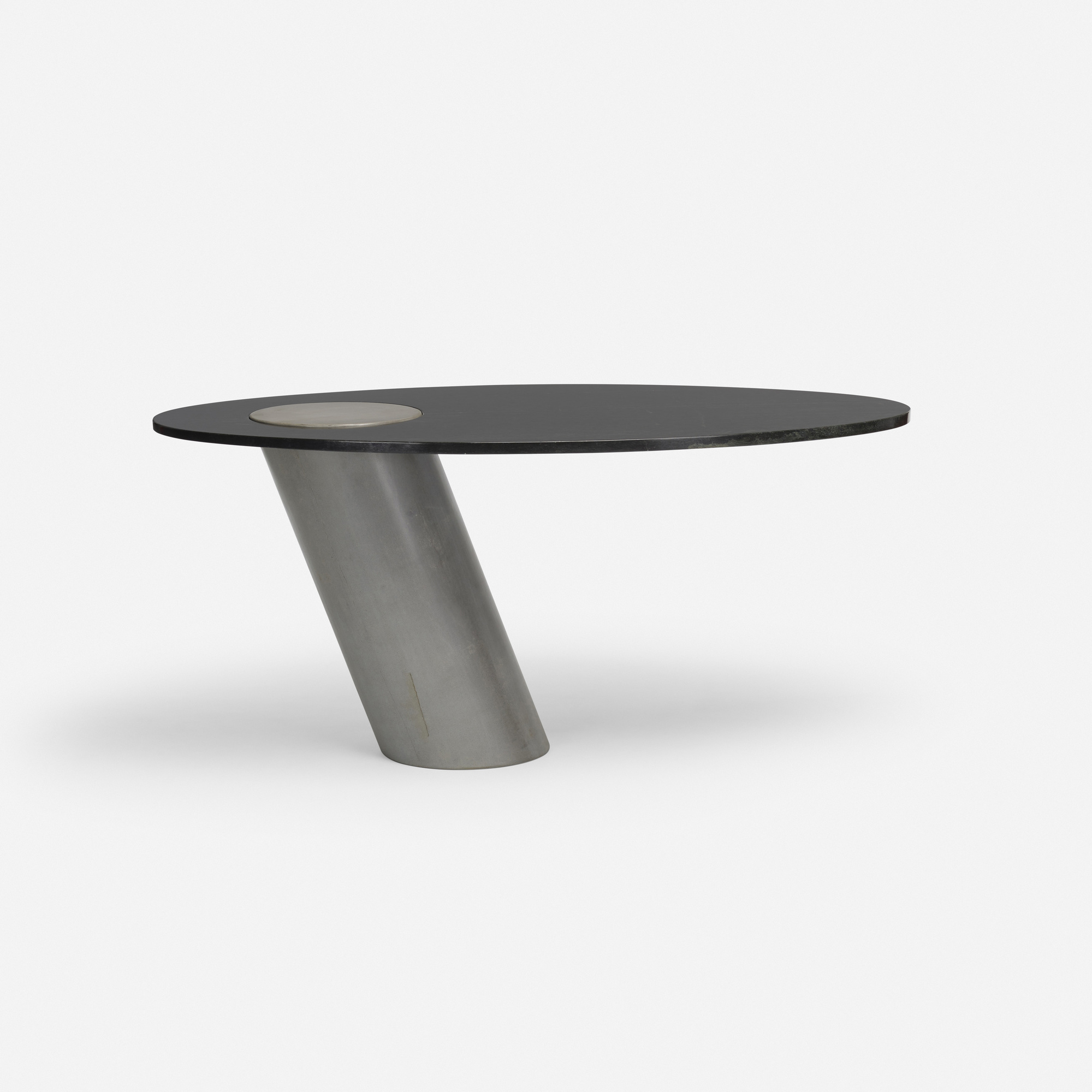 528: Angelo Mangiarotti / cantilevered table (1 of 2)