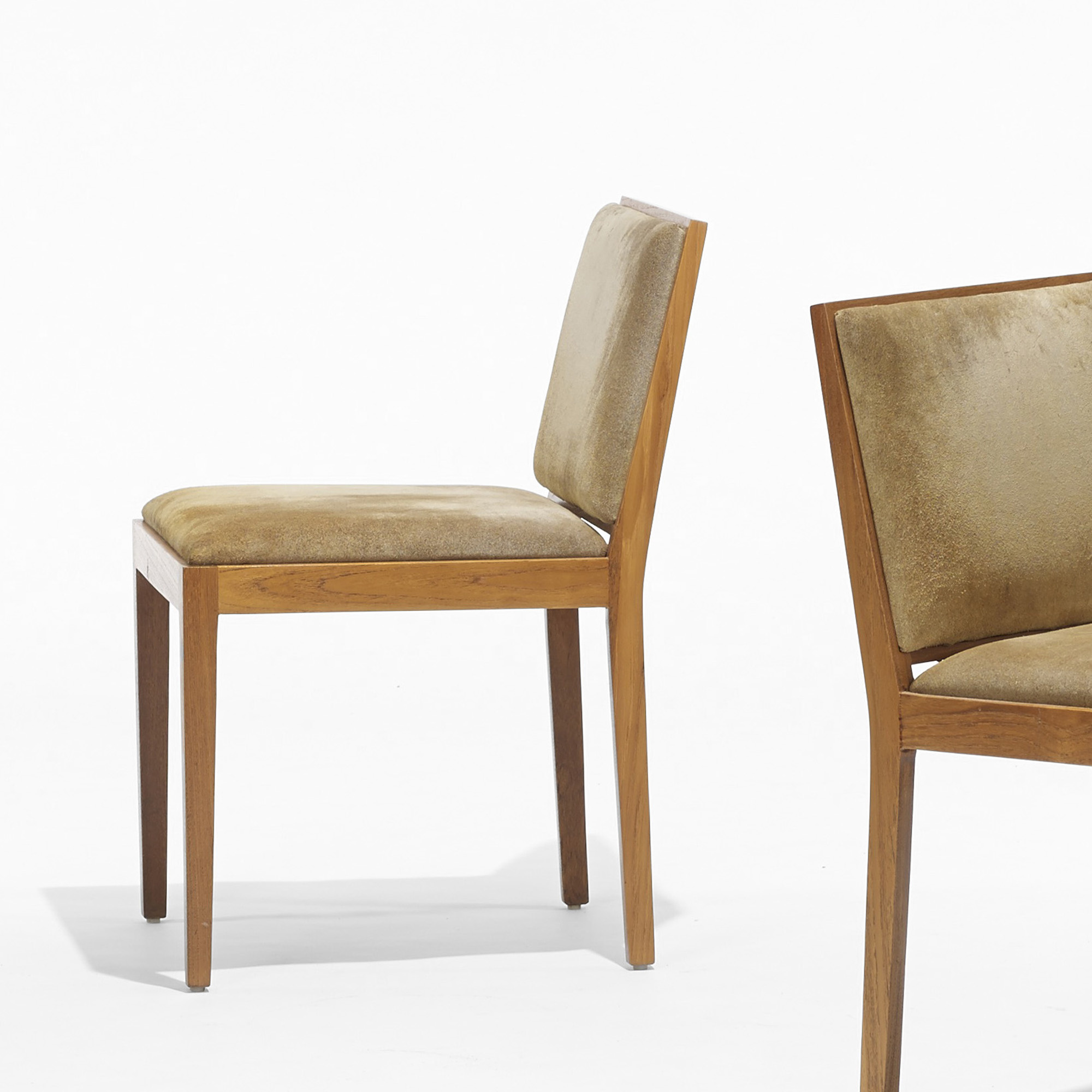 Dining Chairs Chicago: 528: LUDWIG MIES VAN DER ROHE, Set Of Eight Dining Chairs