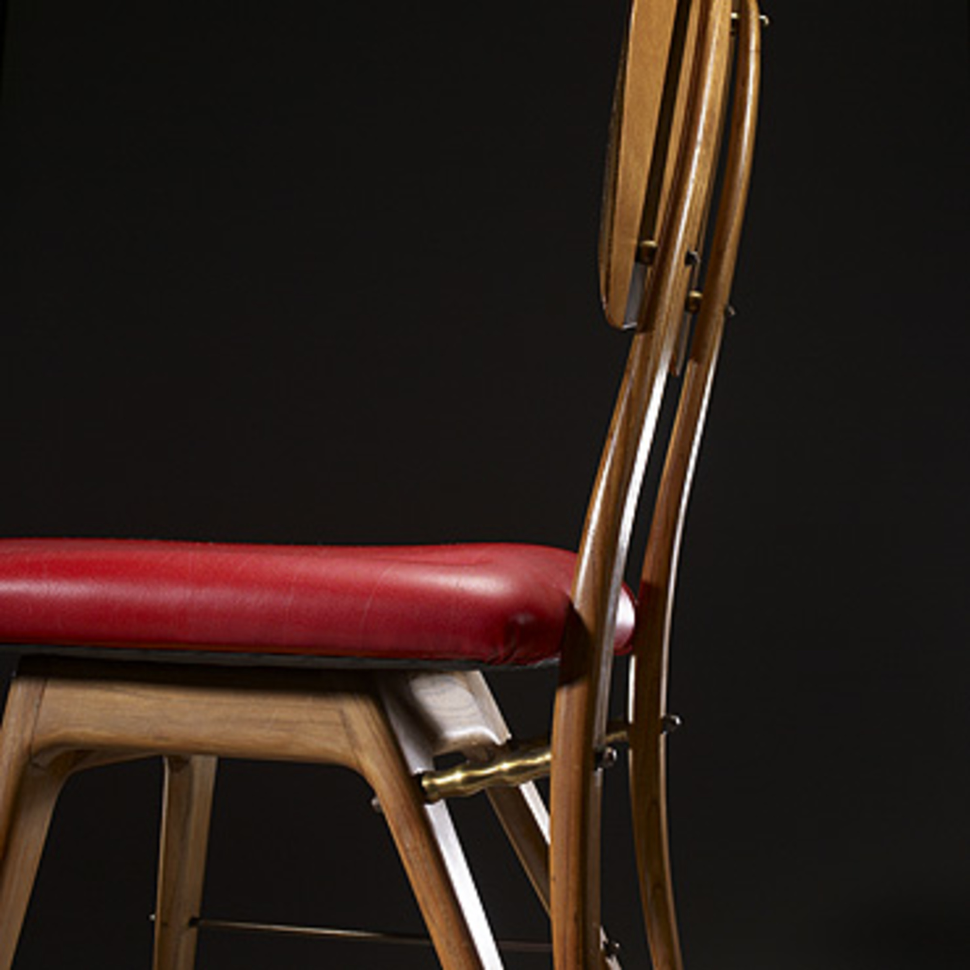 540 carlo mollino chair from the casa editrice lattes for Casa design torino
