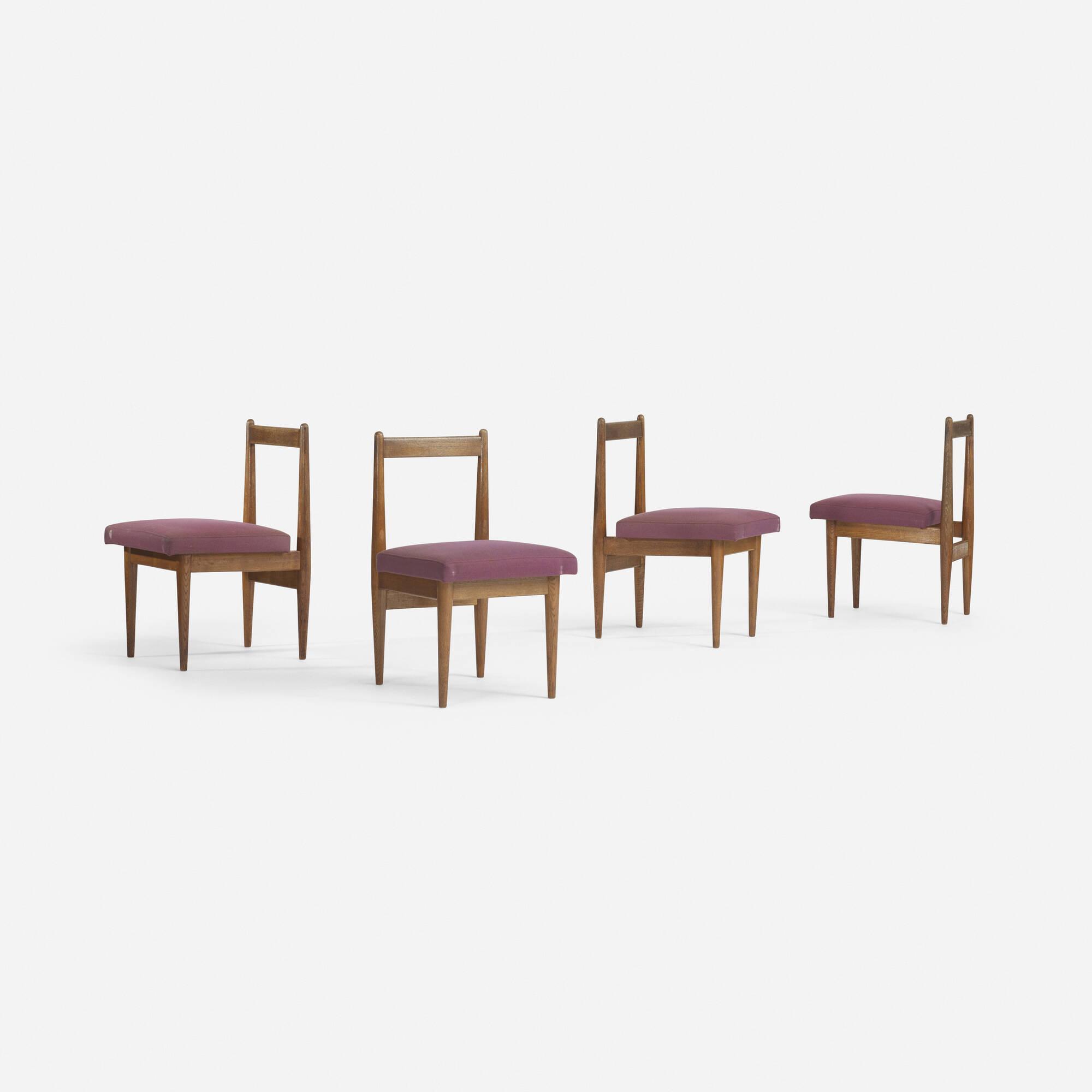 544: Katsuo Matsumura / dining chairs, set of four (1 of 2)