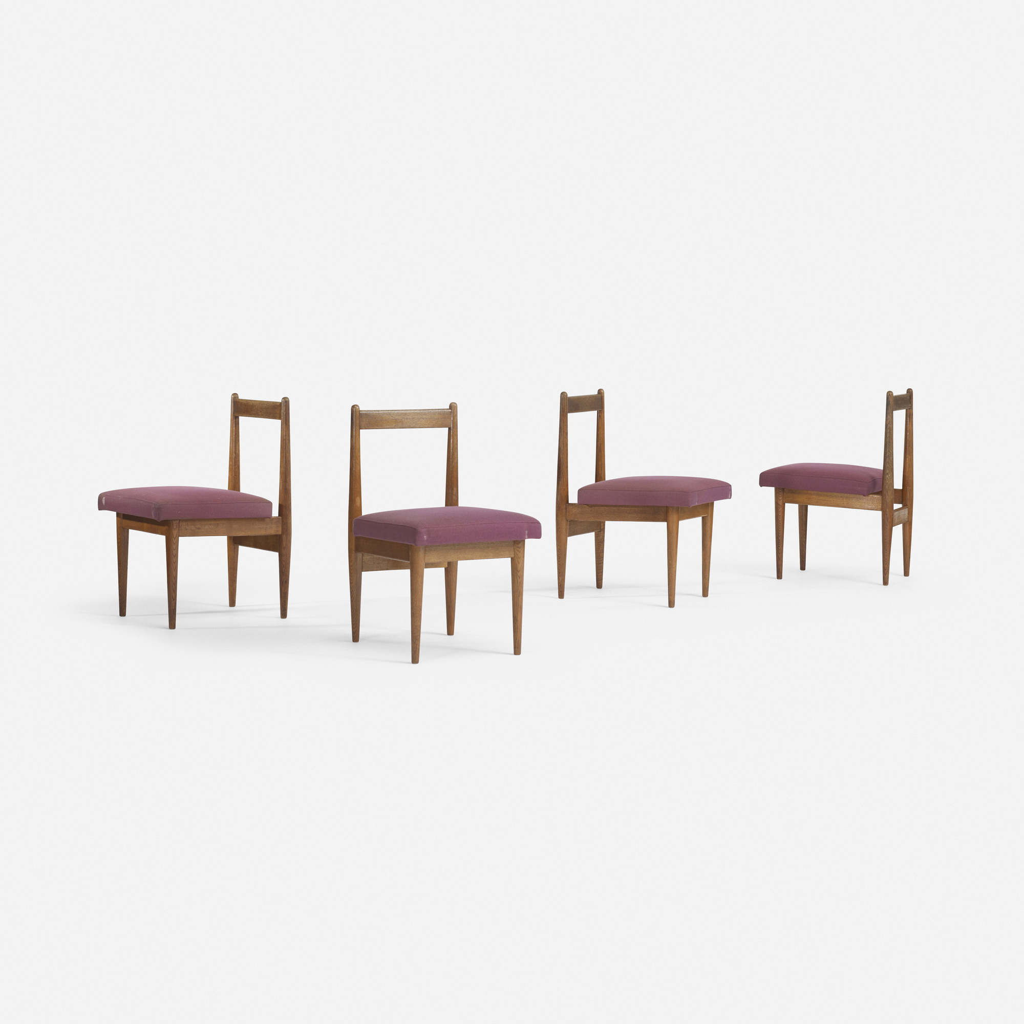 544: Katsuo Matsumura / dining chairs, set of four (1 of 2)