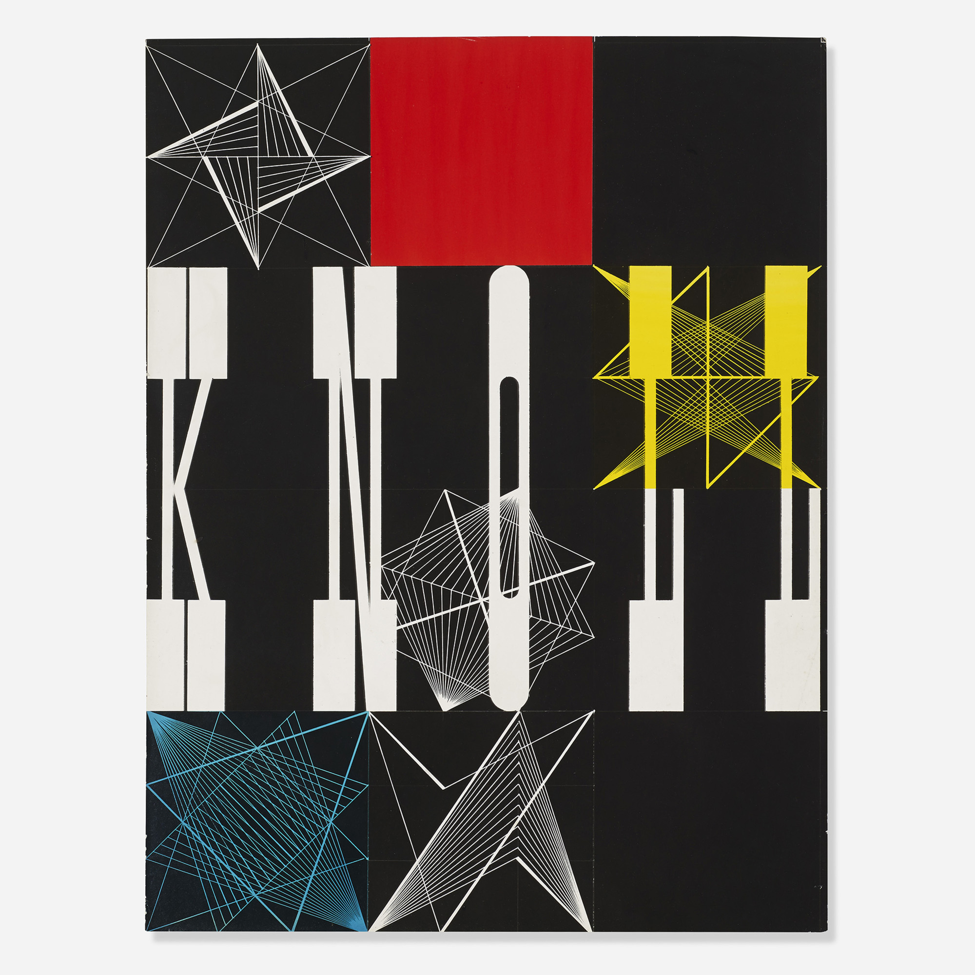 545: Herbert Matter / Untitled (Knoll collage) (1 of 2)