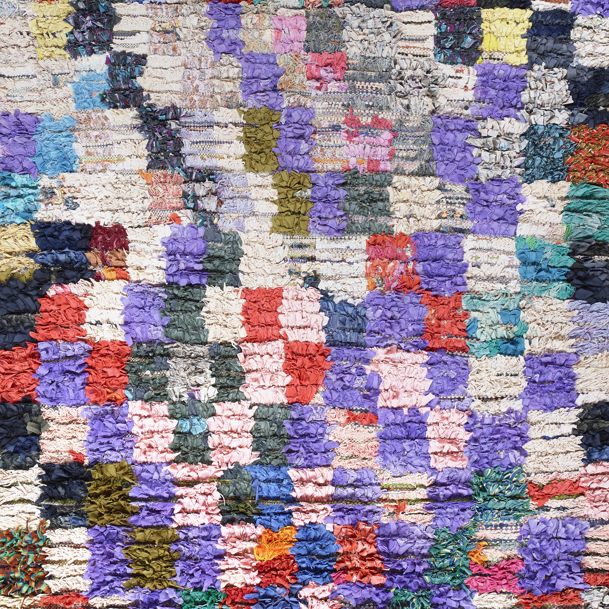 553 moroccan rag rug 2 of 2