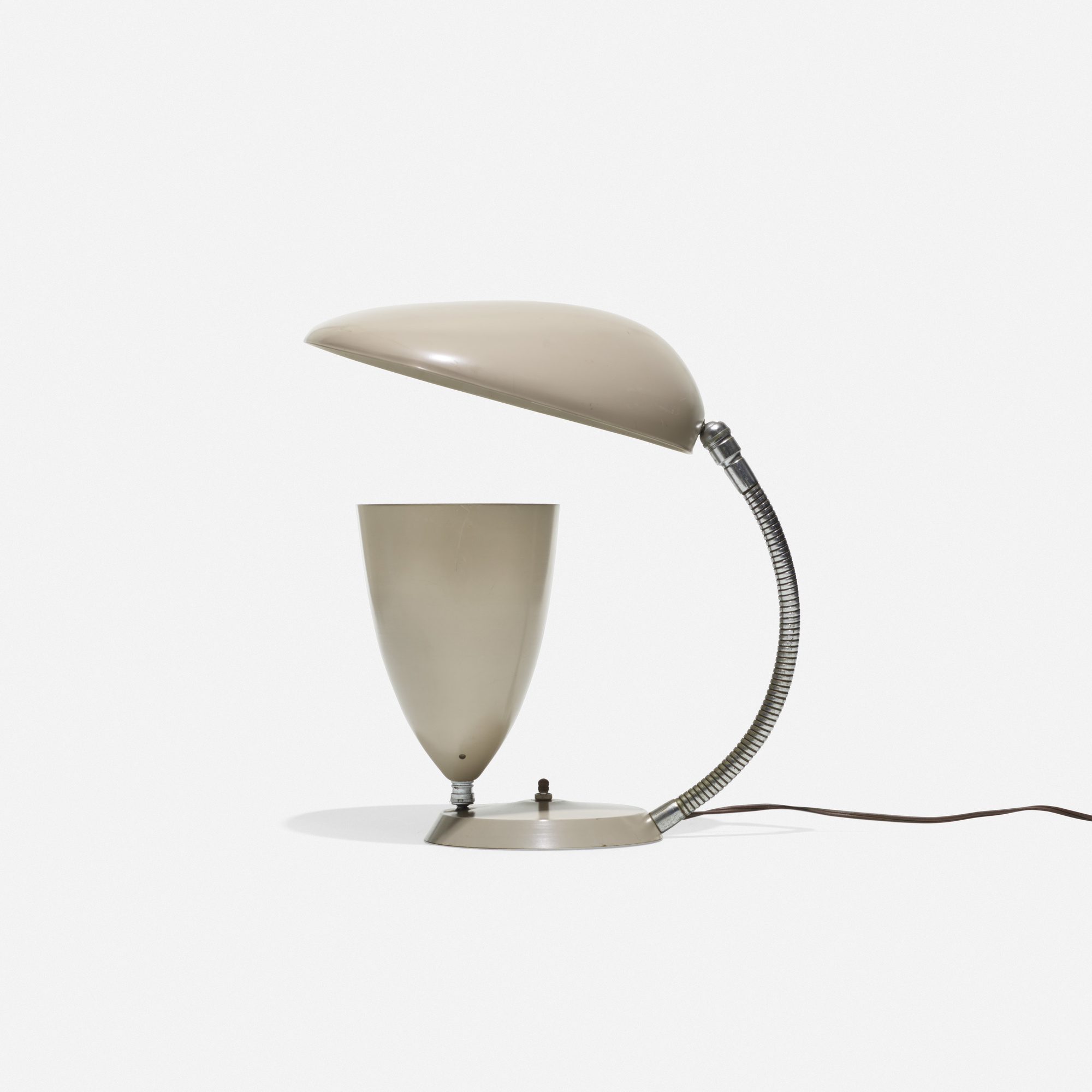560 Greta Magnusson Grossman Cobra Table Lamp American Design