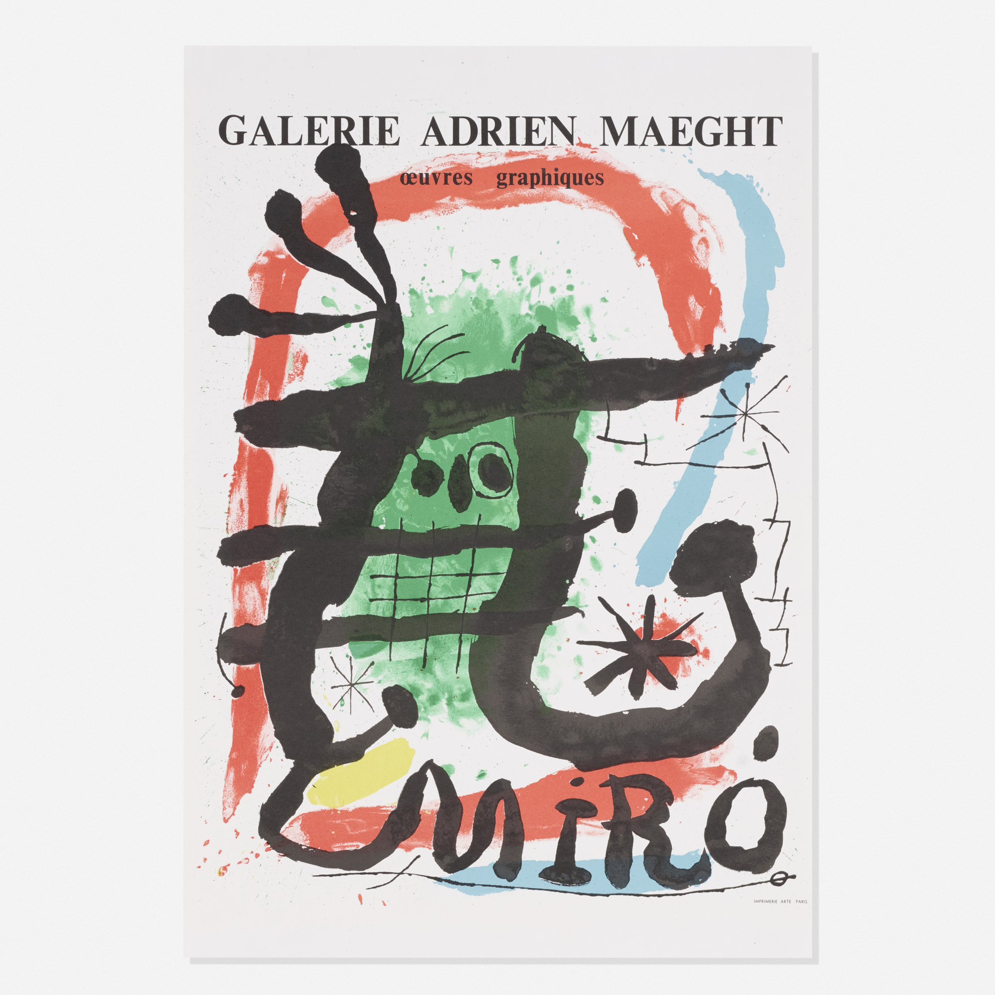 573: After Joan Miro / Galerie Adrien Maeght poster (1 of 1)