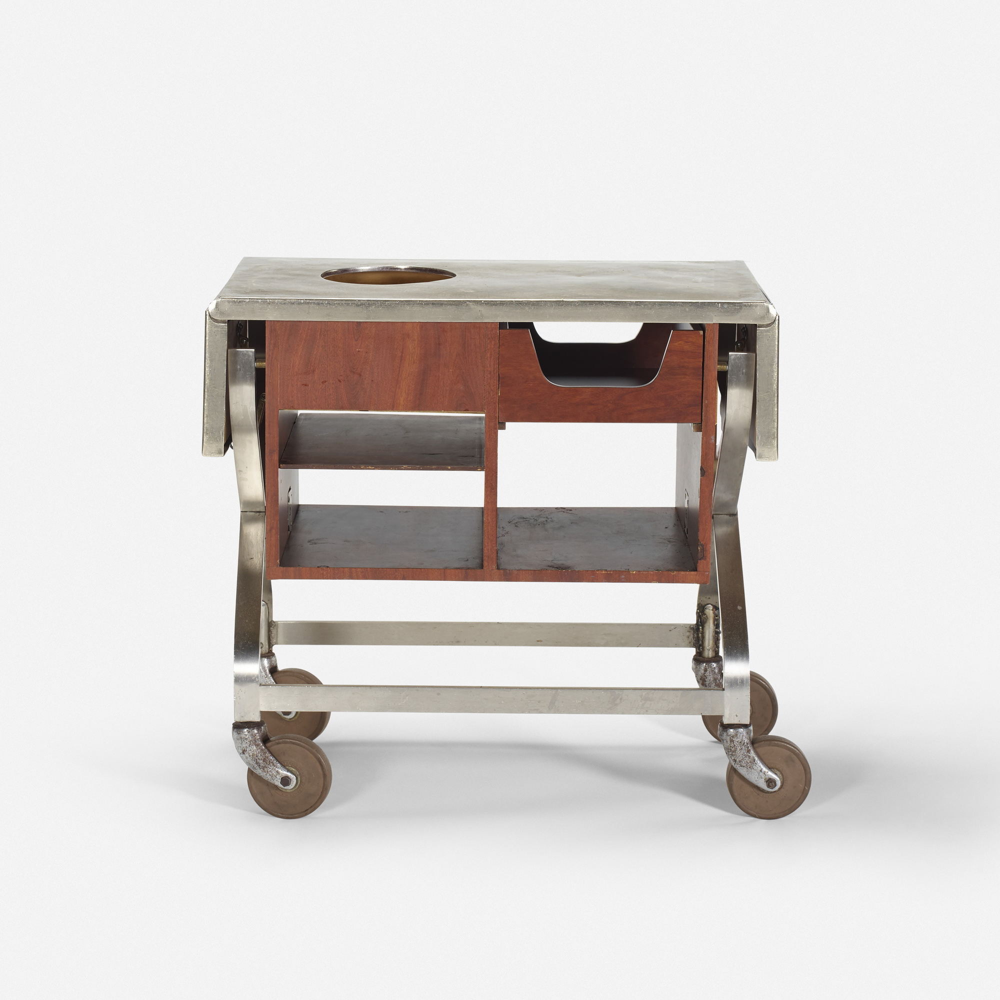 577: Garth and Ada Louise Huxtable / Serving cart from The Four Seasons (1 of 1)
