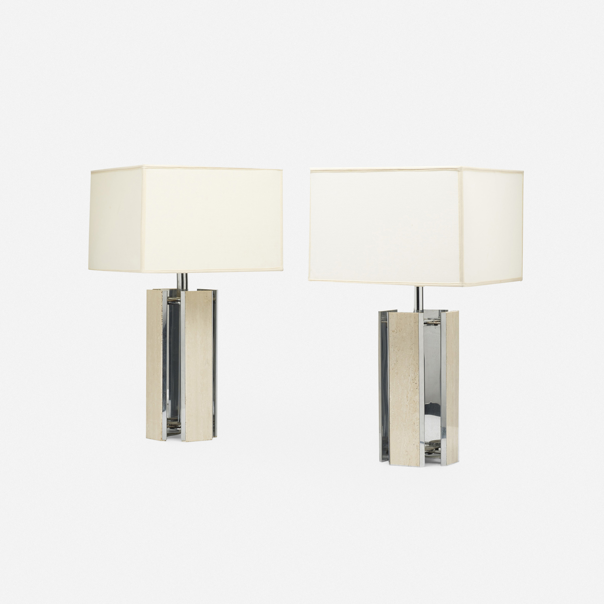 581: Modern / table lamps, pair (2 of 3)