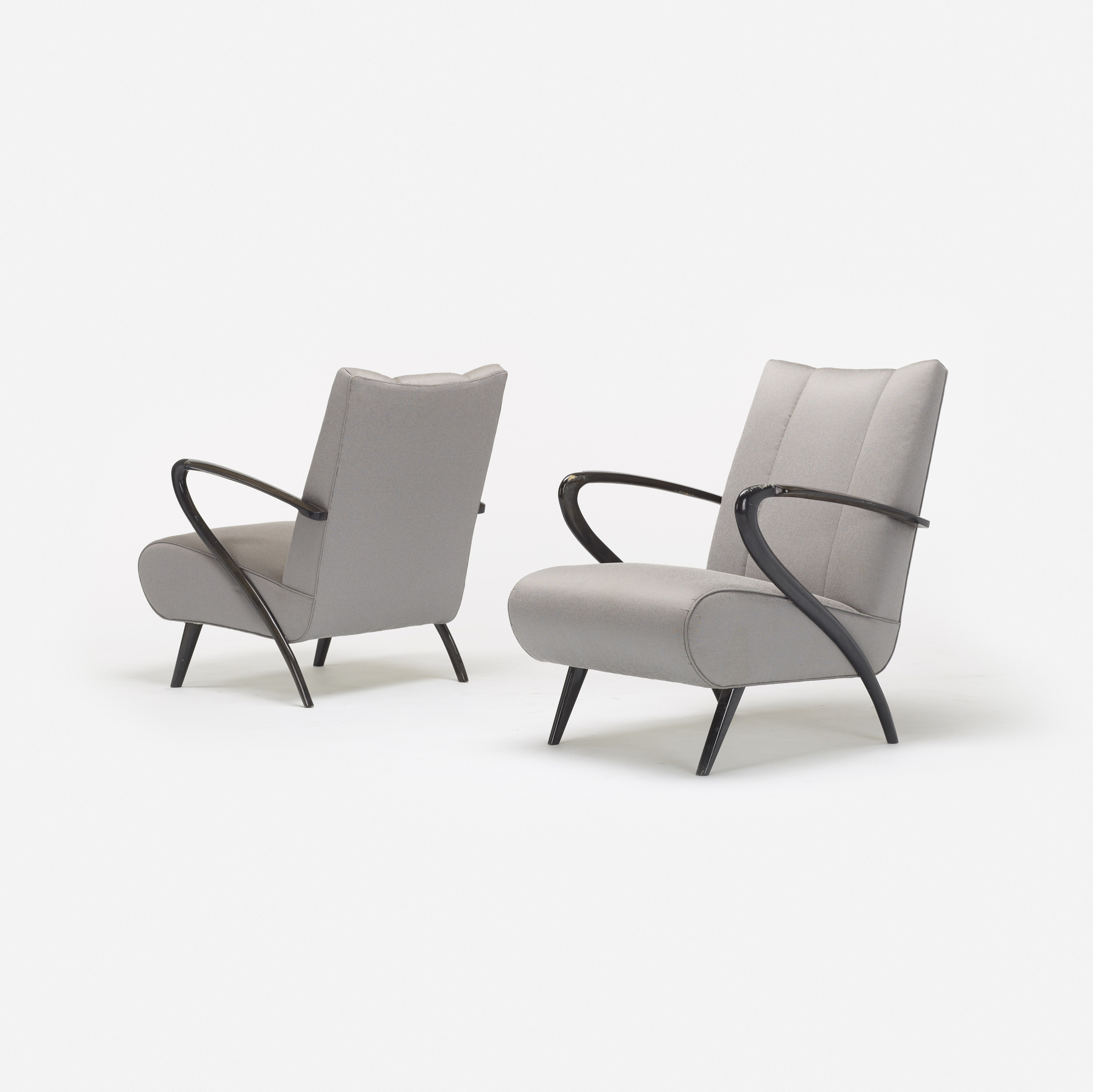 584: Modern / lounge chairs, pair (2 of 4)