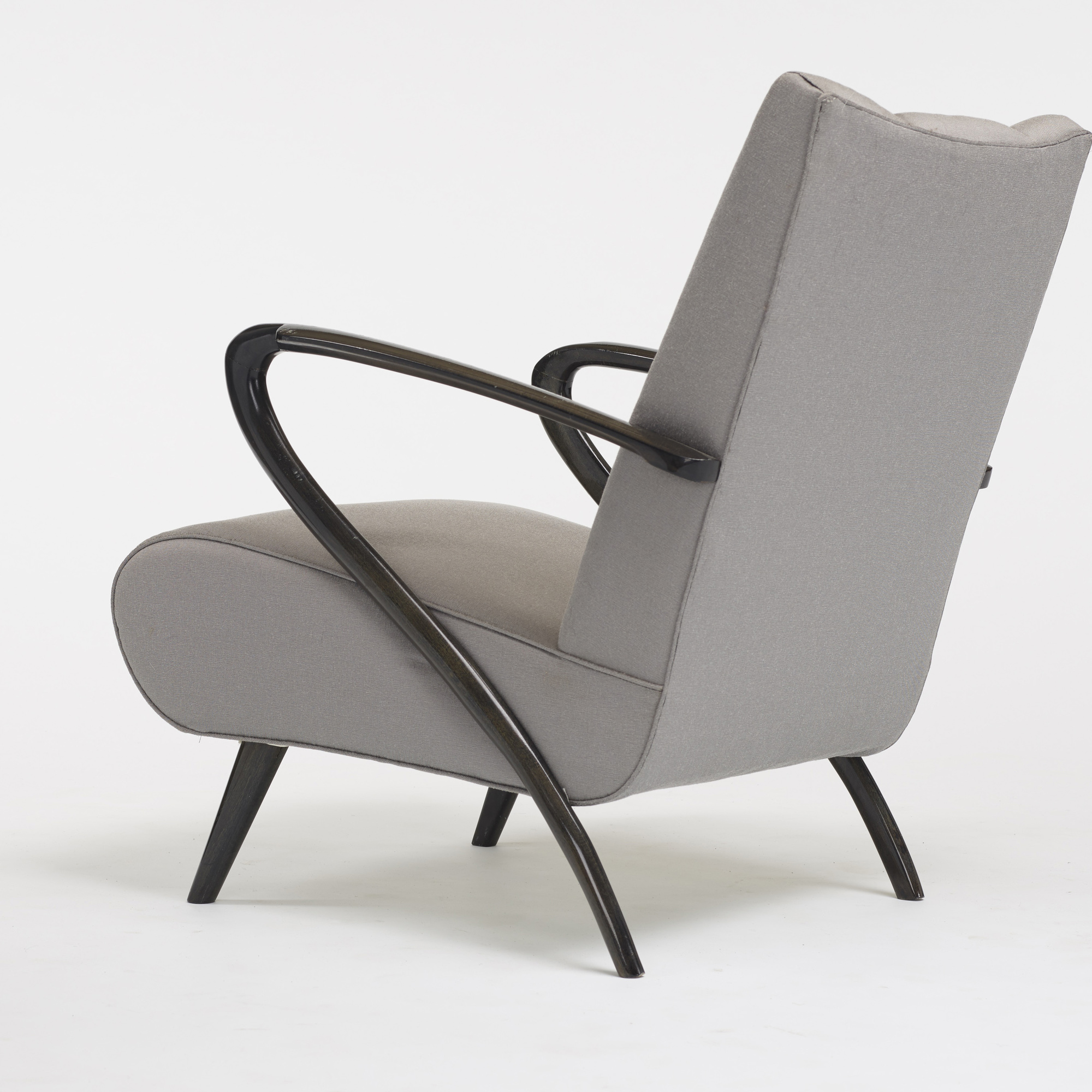 584: Modern / lounge chairs, pair (4 of 4)