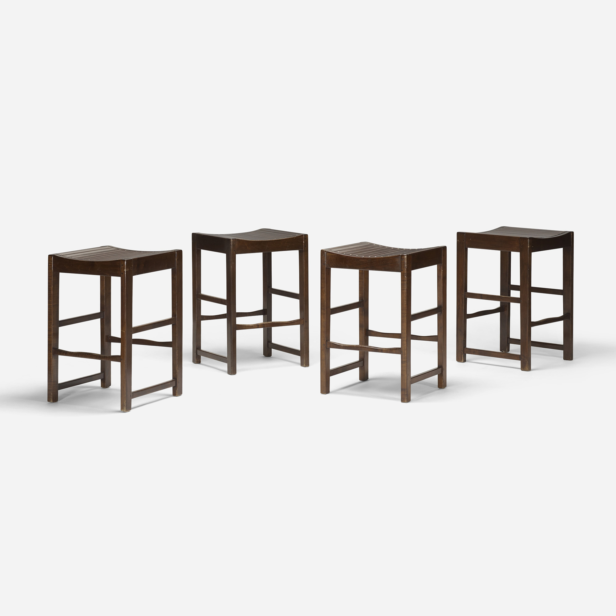 591: Modern / stools, set of four (1 of 2)