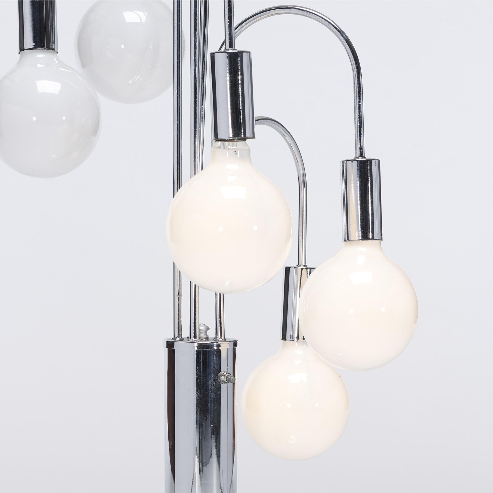 593: Modern / lamps, pair (2 of 2)