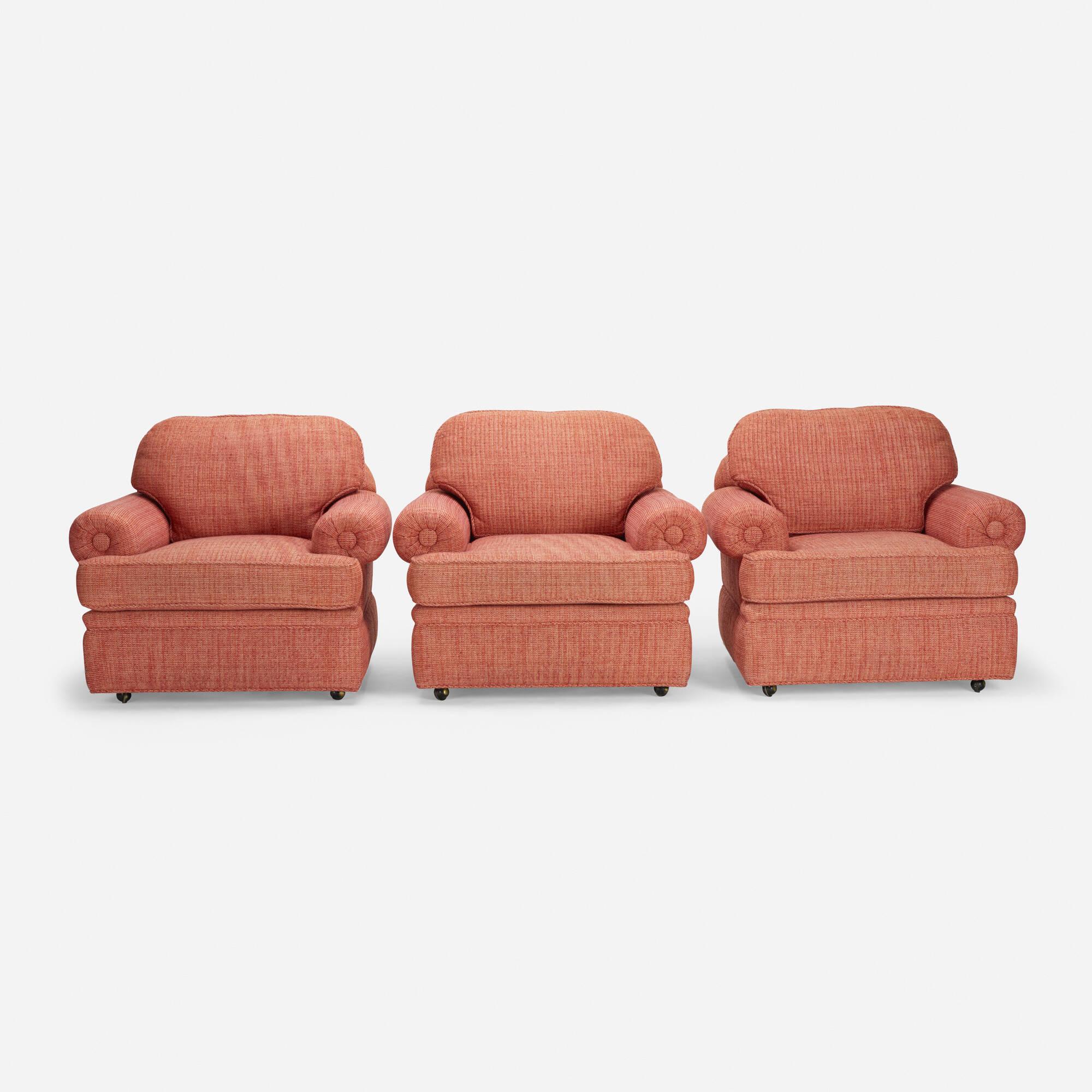 599: Modern / lounge chairs, set of three (1 of 1)