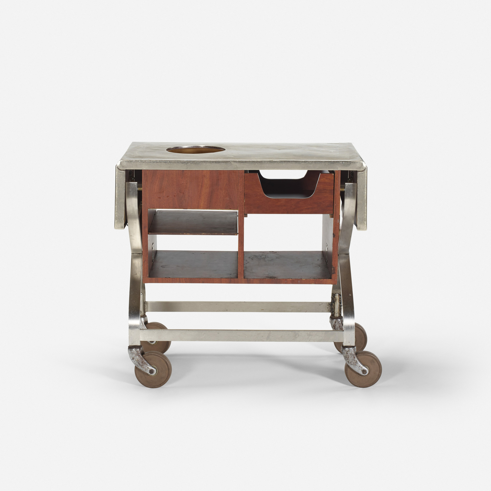 605: Garth and Ada Louise Huxtable / Serving cart from The Four Seasons (1 of 1)
