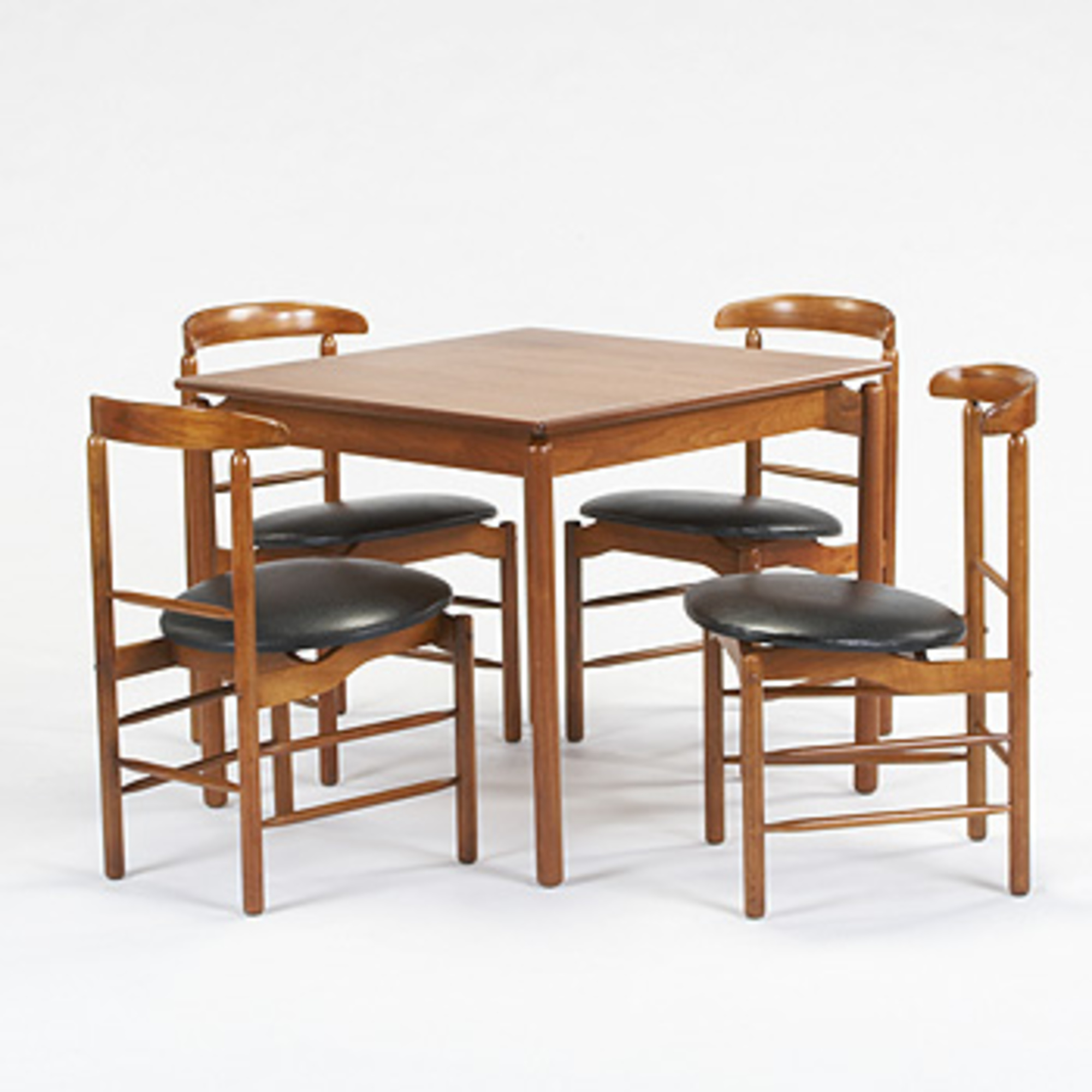607 Greta Magnusson Grossman Game Table And Four Chairs Mass Modern 16 September 2006 Auctions Wright Auctions Of Art And Design