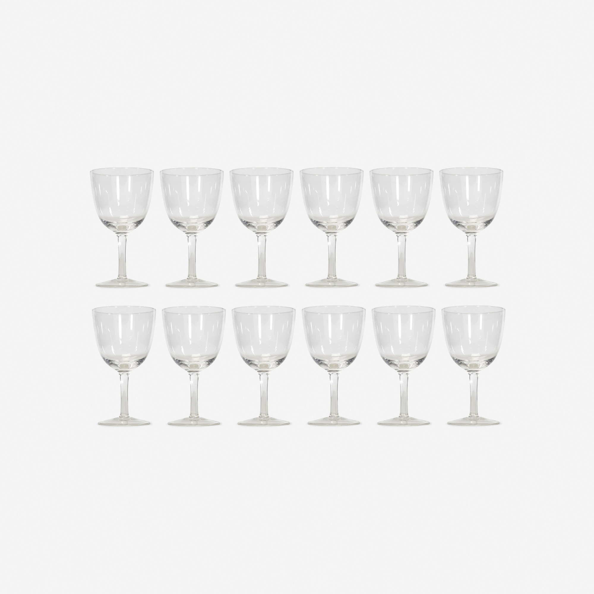610: Garth and Ada Louise Huxtable / Water glasses from The Four Seasons, set of twelve (1 of 1)