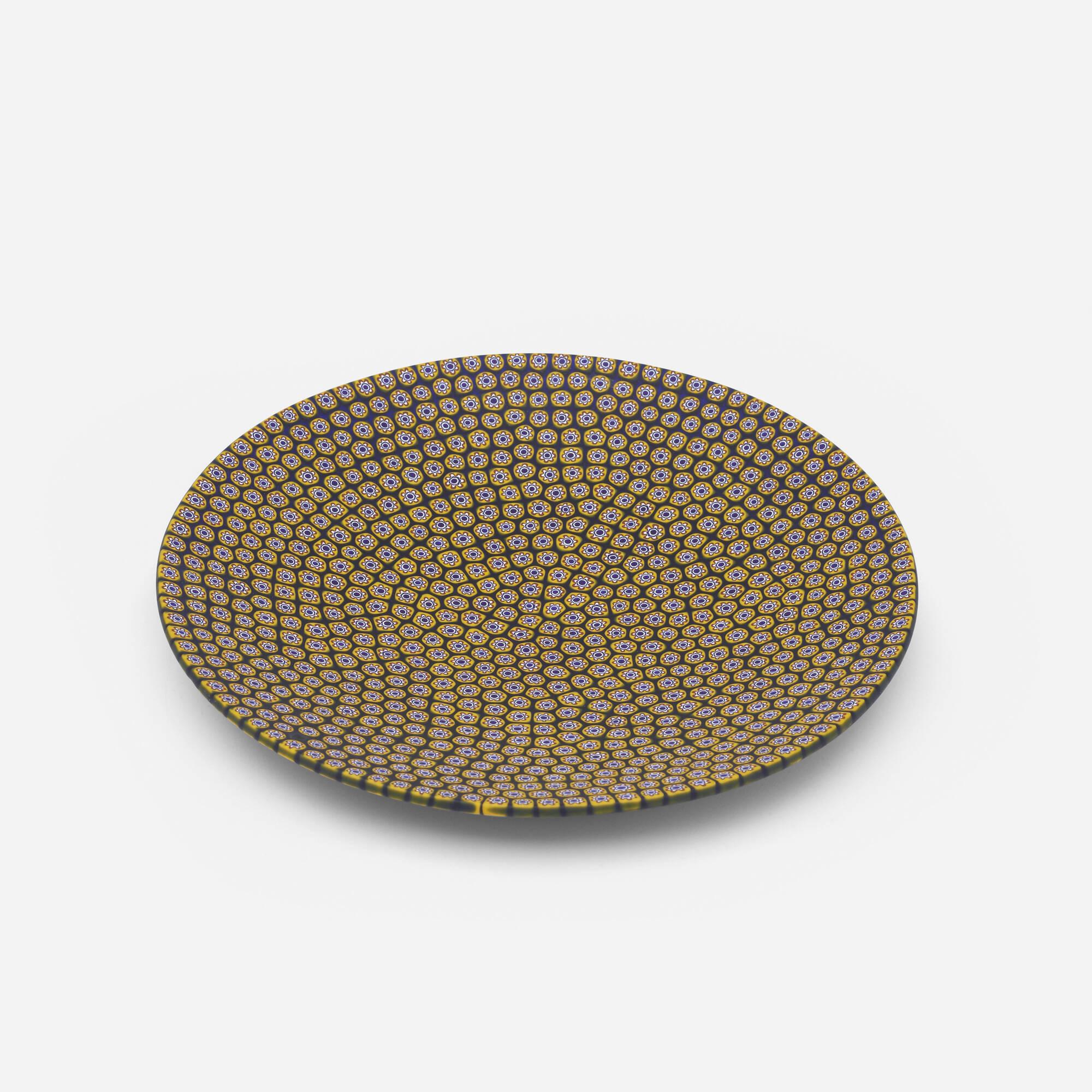 613: Carlo Moretti / plate (1 of 2)