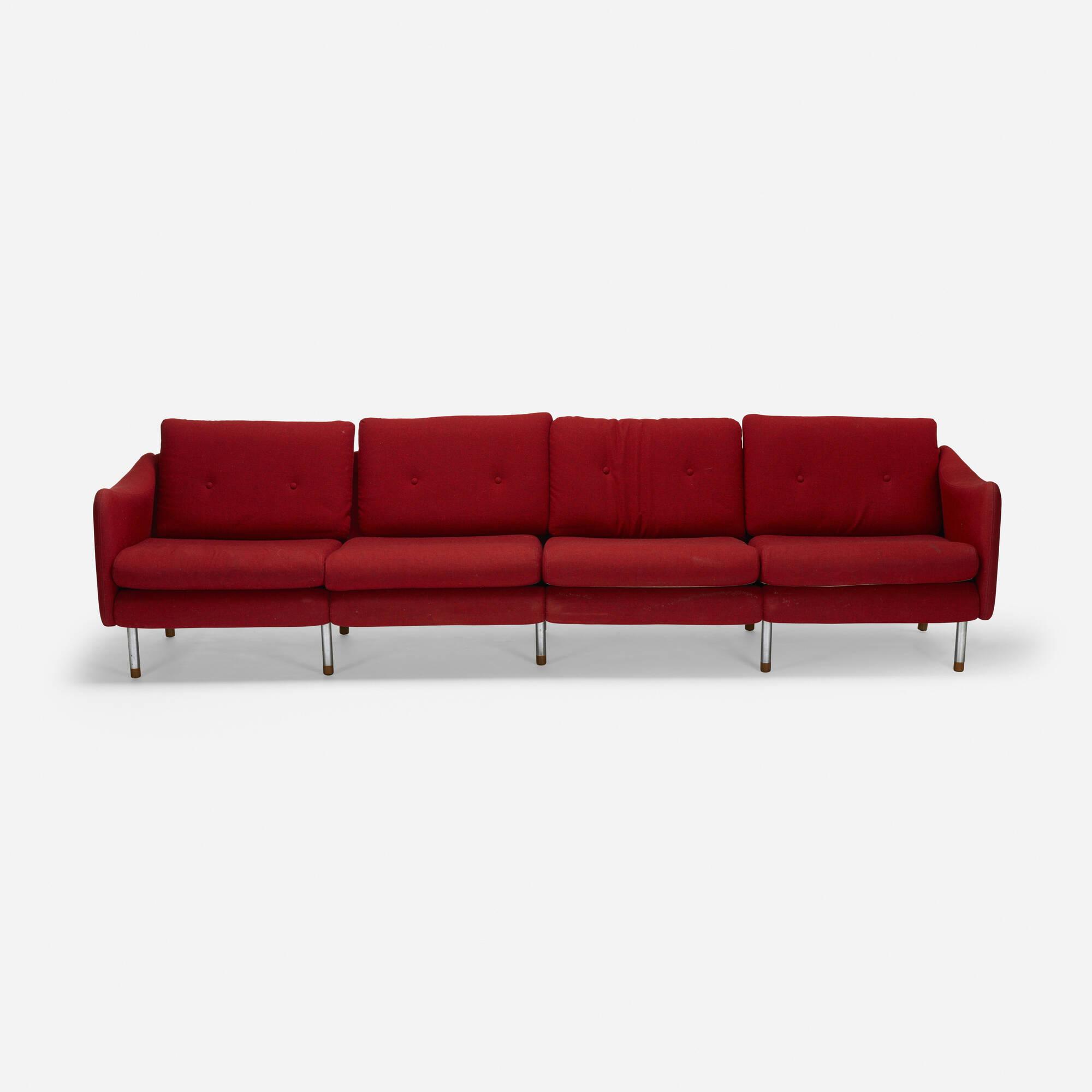 619: Michel Mortier / Teckel sofa (2 of 2)